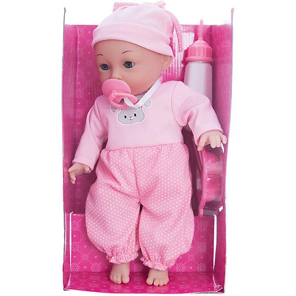Интерактивная кукла Катя Я нуждаюсь в твоей заботе, 40 см, Mary PoppinsКуклы<br>Интерактивная кукла Катя Я нуждаюсь в твоей заботе, 40 см от популярного российского бренда кукол и аксессуаров Mary Poppins (Мэри Поппинс). Эта интерактивная кукла выглядит как настоящий ребеночек! Она умеет пить из бутылочки, сосать соску, смеяться, когда ее щекочат и двигать лицом. Катя одета в фиолетовые штанишки и полосатую кофточку, а на голове малышки стильная сиреневая шапочка. Играя с куклами дети познают человека, как с физиологической, так и с стороны общения между людьми, развивается моторика рук, внимание, воображение, такие игры положительно влияют на психологическое развитие. <br><br>Дополнительная информация:<br><br>- В комплект входит: 1 кукла в одежде, пустышка, бутылочка.<br>- Материал: ПВХ, текстиль, пластик <br>- Размер куклы: 40 см<br>- Необходимы две батарейки типа LR44 (входят в комплект)<br><br>Интерактивную куклу Катя Я нуждаюсь в твоей заботе, 40 см, Mary Poppins (Мэри Поппинс) можно купить в нашем интернет-магазине.<br><br>Подробнее:<br>• Для детей в возрасте: от 3 до 10 лет<br>• Номер товара: 4925544<br>Страна производитель: Китай<br><br>Ширина мм: 290<br>Глубина мм: 140<br>Высота мм: 460<br>Вес г: 3833<br>Возраст от месяцев: 36<br>Возраст до месяцев: 120<br>Пол: Женский<br>Возраст: Детский<br>SKU: 4925544