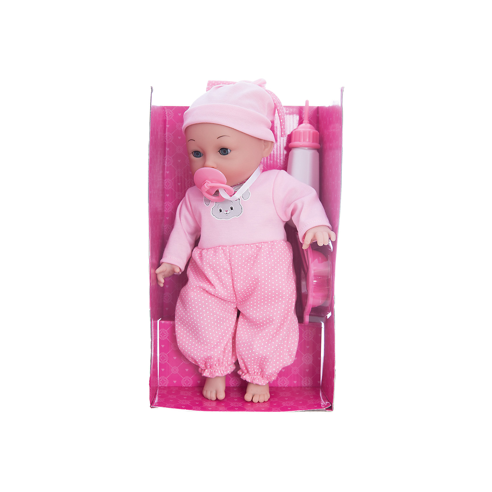 Интерактивная кукла Катя Я нуждаюсь в твоей заботе, 40 см, Mary PoppinsИнтерактивные куклы<br>Интерактивная кукла Катя Я нуждаюсь в твоей заботе, 40 см от популярного российского бренда кукол и аксессуаров Mary Poppins (Мэри Поппинс). Эта интерактивная кукла выглядит как настоящий ребеночек! Она умеет пить из бутылочки, сосать соску, смеяться, когда ее щекочат и двигать лицом. Катя одета в фиолетовые штанишки и полосатую кофточку, а на голове малышки стильная сиреневая шапочка. Играя с куклами дети познают человека, как с физиологической, так и с стороны общения между людьми, развивается моторика рук, внимание, воображение, такие игры положительно влияют на психологическое развитие. <br><br>Дополнительная информация:<br><br>- В комплект входит: 1 кукла в одежде, пустышка, бутылочка.<br>- Материал: ПВХ, текстиль, пластик <br>- Размер куклы: 40 см<br>- Необходимы две батарейки типа LR44 (входят в комплект)<br><br>Интерактивную куклу Катя Я нуждаюсь в твоей заботе, 40 см, Mary Poppins (Мэри Поппинс) можно купить в нашем интернет-магазине.<br><br>Подробнее:<br>• Для детей в возрасте: от 3 до 10 лет<br>• Номер товара: 4925544<br>Страна производитель: Китай<br><br>Ширина мм: 290<br>Глубина мм: 140<br>Высота мм: 460<br>Вес г: 3833<br>Возраст от месяцев: 36<br>Возраст до месяцев: 120<br>Пол: Женский<br>Возраст: Детский<br>SKU: 4925544