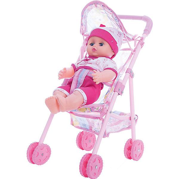 Кукла озвученная 30 см с коляской, Shantou GepaiКуклы<br>Кукла озвученная 30 см с коляской, Shantou Gepai - эта интересная кукла выглядит как настоящий малыш! Более того, в комплекте у этого пупса имеется и прогулочная коляска. Малыш одет в голубой комбинезончик и шапочку в тон и снабжен звуковыми эффектами. У коляски четыре двойных колеса и трехточечный ремень безопасности для куклы. Нейтральное выражения лица куклы поможет ребенку придумать множество своих сценариев и чувств куклы, закладывая фундамент социальных навыков и социального развития. Играя с куклами дети познают человека, как с физиологической, так и с стороны общения между людьми, развивается моторика рук, внимание, воображение, такие игры положительно влияют на психологическое развитие. <br><br>Дополнительная информация:<br><br>- В комплект входит: 1 кукла в одежде, коляска<br>- Материал: ПВХ, текстиль, пластик <br>- Размер куклы: 30 см<br>- Размер упаковки: 36 * 11,5 * 30,5 см.<br><br>Куклу озвученную 30 см с коляской, Shantou Gepai можно купить в нашем интернет-магазине.<br><br>Подробнее:<br>• Для детей в возрасте: от 3 до 10 лет<br>• Номер товара: 4925554<br>Страна производитель: Китай<br><br>Ширина мм: 360<br>Глубина мм: 115<br>Высота мм: 300<br>Вес г: 4917<br>Возраст от месяцев: 36<br>Возраст до месяцев: 120<br>Пол: Женский<br>Возраст: Детский<br>SKU: 4925554