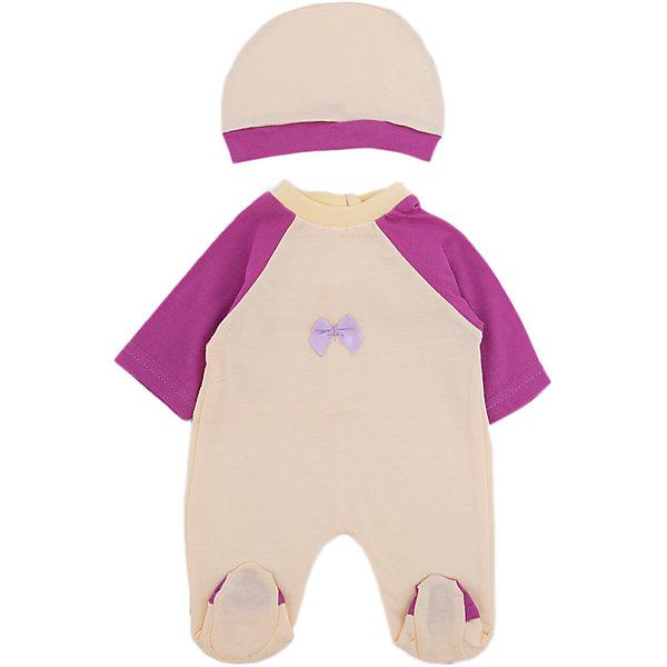 Одежда для куклы 42 см, комбинезон с шапочкой, Mary PoppinsОдежда для кукол<br>Одежда для куклы 42 см, комбинезон с шапочкой от популярного российского бренда кукол и аксессуаров Mary Poppins (Мэри Поппинс). Интересный  комбинезон насыщенного цвета с длинным рукавом подойдет всем куклам длиной от 38 до 42 см., а шапочка в тон придет по вкусу хозяйке кукол. Маленькая мама может теперь менять одежду своим деткам или даже стирать ее в игрушечной машине. Играя с куклами дети познают человека, как с физиологической, так и с стороны общения между людьми, развивается моторика рук, внимание, воображение, такие игры положительно влияют на психологическое развитие. <br><br>Дополнительная информация:<br><br>- В комплект входит: комбинезон, шапочка<br>- Материал: текстиль<br>- Размер: 18 * 30 см.<br><br>Одежду для куклы 42 см, комбинезон с шапочкой, в ассортименте, Mary Poppins (Мэри Поппинс) можно купить в нашем интернет-магазине.<br><br>Подробнее:<br>• Для детей в возрасте: от 3 до 10 лет<br>• Номер товара: 4925566<br>Страна производитель: Китай<br><br>Ширина мм: 175<br>Глубина мм: 5<br>Высота мм: 300<br>Вес г: 27<br>Возраст от месяцев: 36<br>Возраст до месяцев: 120<br>Пол: Женский<br>Возраст: Детский<br>SKU: 4925566