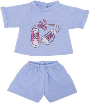Одежда для куклы 42 см, футболка и шортики, Mary Poppins