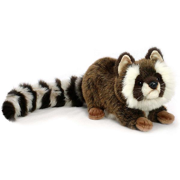 Енот, 35 смМягкие игрушки животные<br>Енот, 35 см – игрушка от знаменитого бренда Hansa, специализирующегося на выпуске мягких игрушек с высокой степенью натуралистичности. Внешний вид игрушечного енота полностью соответствует своему реальному прототипу. Он выполнен из искусственного меха меланжевого окраса с длинным ворсом: у енота – пушистый полосатый хвост и белые пухлые щечки. Использованные материалы обладают гипоаллергенными свойствами. Внутри игрушки имеется металлический каркас, позволяющий изменять положение. <br>Игрушка относится к серии Дикие животные. <br>Мягкие игрушки от Hansa подходят для сюжетно-ролевых игр, для обучающих игр, направленных на знакомство с животным миром дикой природы. Кроме того, их можно использовать в качестве интерьерных игрушек. Коллекция из нескольких игрушек позволяет создать свой домашний зоопарк, который будет радовать вашего ребенка долгое время, так как ручная работа и качественные материалы гарантируют их долговечность и прочность.<br><br>Дополнительная информация:<br><br>- Вид игр: сюжетно-ролевые игры, коллекционирование, интерьерные игрушки<br>- Предназначение: для дома, для детских развивающих центров, для детских садов<br>- Материал: искусственный мех, наполнитель ? полиэфирное волокно<br>- Размер (ДхШхВ): 74*21*22 см<br>- Вес: 770 г<br>- Особенности ухода: сухая чистка при помощи пылесоса или щетки для одежды<br><br>Подробнее:<br><br>• Для детей в возрасте: от 3 лет <br>• Страна производитель: Филиппины<br>• Торговый бренд: Hansa<br><br>Енота, 35 см можно купить в нашем интернет-магазине.<br>Ширина мм: 74; Глубина мм: 21; Высота мм: 22; Вес г: 770; Возраст от месяцев: 36; Возраст до месяцев: 2147483647; Пол: Унисекс; Возраст: Детский; SKU: 4927139;