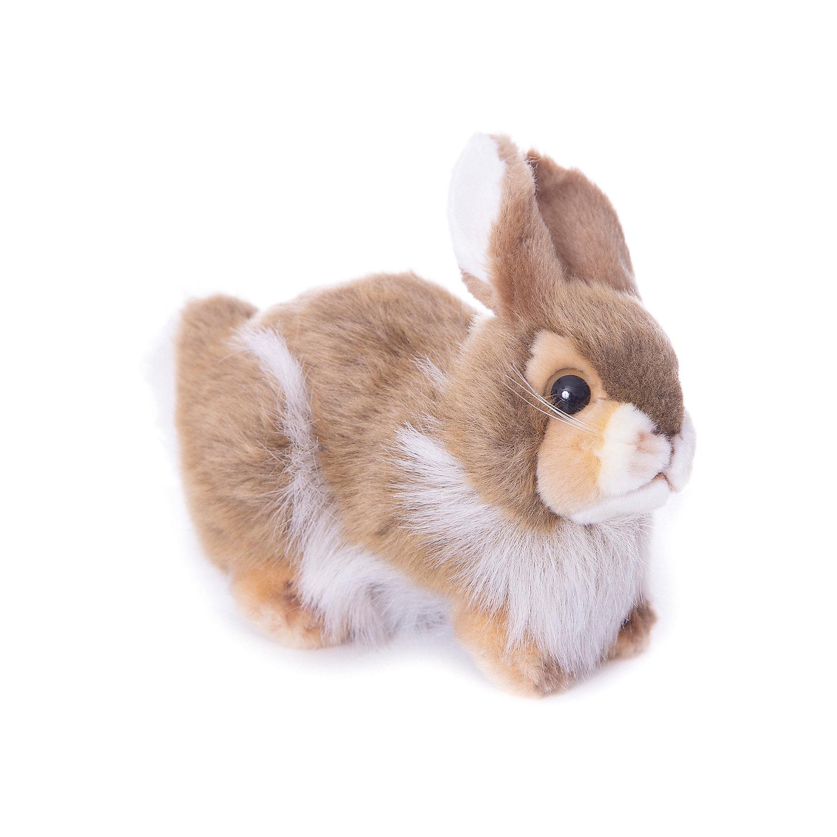 Кролик, 23 смКролик, 23 см – игрушка от знаменитого бренда Hansa, специализирующегося на выпуске мягких игрушек с высокой степенью натуралистичности. Внешний вид игрушечного кролика полностью соответствует реальному прототипу – домашнему кролику. Он выполнен из искусственного меха с ворсом разной длины: короткий на лапках, ушках и мордочке, длинный – на туловище. Окрас игрушки – коричнево-белый. Использованные материалы обладают гипоаллергенными свойствами. Внутри игрушки имеется металлический каркас, позволяющий изменять положение. <br>Игрушка относится к серии Домашние животные. <br>Мягкие игрушки от Hansa подходят для сюжетно-ролевых игр, для обучающих игр, направленных на знакомство с миром живой природы. Кроме того, их можно использовать в качестве интерьерных игрушек. Коллекция из нескольких игрушек позволяет создать свою домашнюю ферму, которая будет радовать вашего ребенка долгое время, так как ручная работа и качественные материалы гарантируют их долговечность и прочность.<br><br>Дополнительная информация:<br><br>- Вид игр: сюжетно-ролевые игры, коллекционирование, интерьерные игрушки<br>- Предназначение: для дома, для детских развивающих центров, для детских садов<br>- Материал: искусственный мех, наполнитель ? полиэфирное волокно<br>- Размер (ДхШхВ): 23*18*11 см<br>- Вес: 570 г<br>- Особенности ухода: сухая чистка при помощи пылесоса или щетки для одежды<br><br>Подробнее:<br><br>• Для детей в возрасте: от 3 лет <br>• Страна производитель: Филиппины<br>• Торговый бренд: Hansa<br><br>Кролика, 23 см можно купить в нашем интернет-магазине.<br><br>Ширина мм: 23<br>Глубина мм: 18<br>Высота мм: 11<br>Вес г: 570<br>Возраст от месяцев: 36<br>Возраст до месяцев: 2147483647<br>Пол: Унисекс<br>Возраст: Детский<br>SKU: 4927145