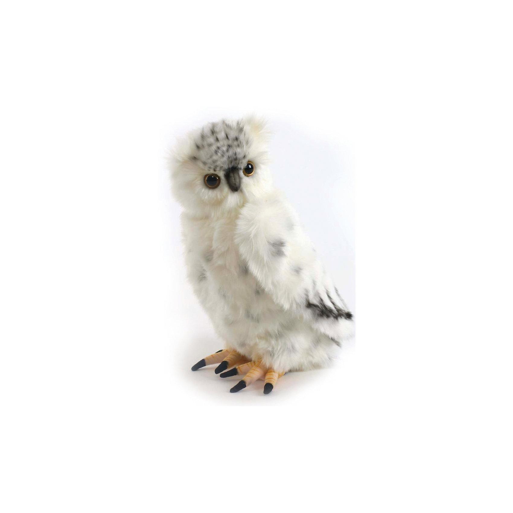 Полярная сова, 33 смЗвери и птицы<br>Полярная сова, 33 см – игрушка от знаменитого бренда Hansa, специализирующегося на выпуске мягких игрушек с высокой степенью натуралистичности. Внешний вид игрушечной совы полностью соответствует реальному прототипу – полярной сове. Игрушка выполнена из светлого меха с ворсом средней длины, который обладает гипоаллергенными свойствами. Внутри имеется металлический каркас, который позволяет изменять положение. Игрушка относится к серии Хищные птицы. <br>Мягкие игрушки от Hansa подходят для сюжетно-ролевых игр или для обучающих игр. Кроме того, их можно использовать в качестве интерьерных игрушек. Игрушки от Hansa будут радовать вашего ребенка долгое время, так как ручная работа и качественные материалы гарантируют их долговечность и прочность.<br><br>Дополнительная информация:<br><br>- Вид игр: сюжетно-ролевые игры, коллекционирование, интерьерные игрушки<br>- Предназначение: для дома, для детских развивающих центров, для детских садов<br>- Материал: искусственный мех, наполнитель ? полиэфирное волокно<br>- Размер (ДхШхВ): 18*33*6 см<br>- Вес: 690 г<br>- Особенности ухода: сухая чистка при помощи пылесоса или щетки для одежды<br><br>Подробнее:<br><br>• Для детей в возрасте: от 3 лет <br>• Страна производитель: Филиппины<br>• Торговый бренд: Hansa<br><br>Полярную сову, 33 см можно купить в нашем интернет-магазине.<br><br>Ширина мм: 18<br>Глубина мм: 33<br>Высота мм: 6<br>Вес г: 690<br>Возраст от месяцев: 36<br>Возраст до месяцев: 2147483647<br>Пол: Унисекс<br>Возраст: Детский<br>SKU: 4927166