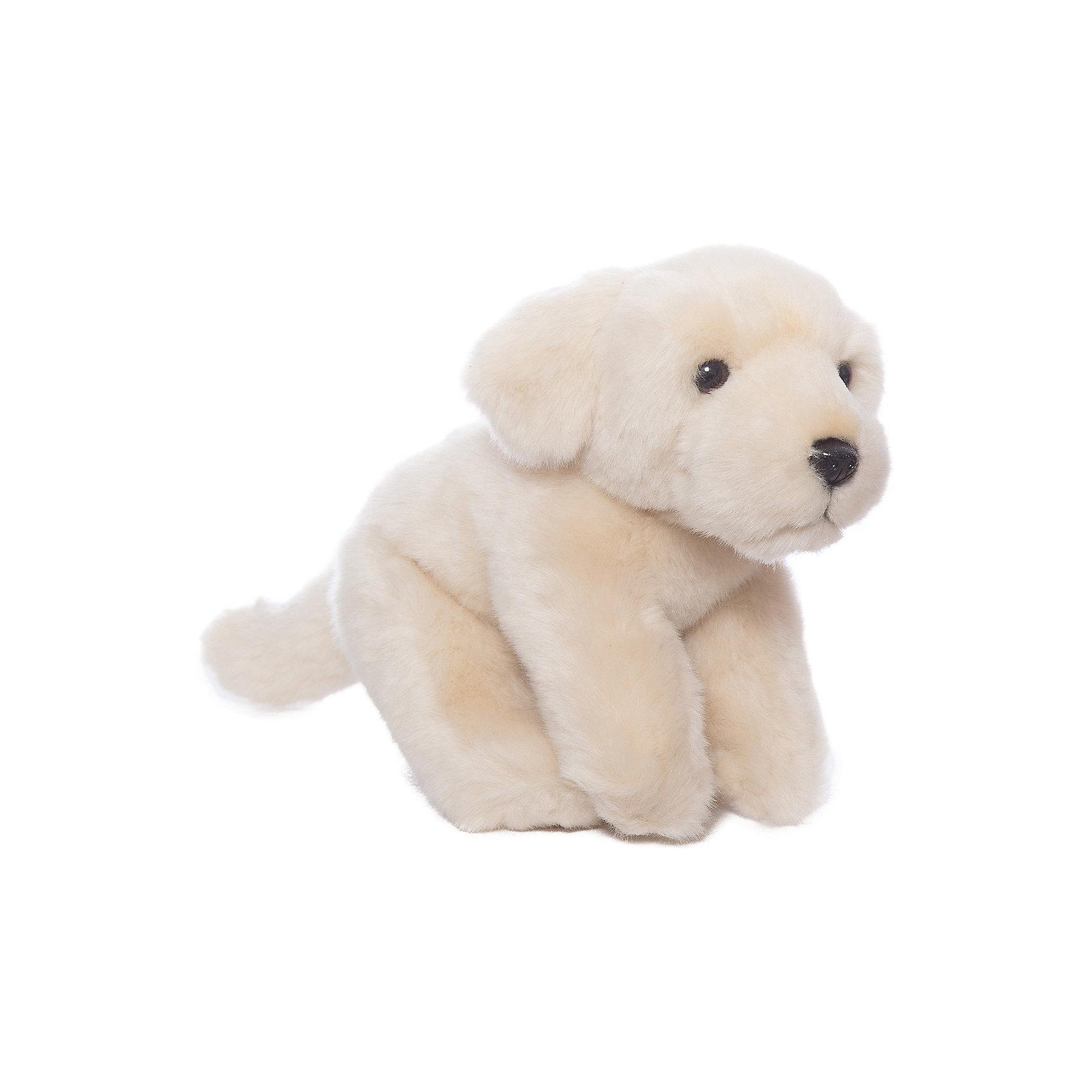 Бежевый лабрадор, 22 смКошки и собаки<br>Бежевый лабрадор, 22 см – игрушка от знаменитого бренда Hansa, специализирующегося на выпуске мягких игрушек с высокой степенью натуралистичности. Внешний вид игрушечной собаки полностью соответствует породе реального прототипа. Игрушка выполнена в бежевом цвете из меха с ворсом средней длины, обладает гипоаллергенными свойствами. Внутри имеется металлический каркас, который позволяет изменять положение. <br>Игрушка относится к серии Домашние животные. <br>Мягкие игрушки от Hansa подходят для сюжетно-ролевых игр или для обучающих игр. Кроме того, их можно использовать в качестве интерьерных игрушек. Игрушки от Hansa будут радовать вашего ребенка долгое время, так как ручная работа и качественные материалы гарантируют их долговечность и прочность.<br><br>Дополнительная информация:<br><br>- Вид игр: сюжетно-ролевые игры, коллекционирование, интерьерные игрушки<br>- Предназначение: для дома, для детских развивающих центров, для детских садов<br>- Материал: искусственный мех, наполнитель ? полиэфирное волокно<br>- Размер (ДхШхВ): 15*12*22 см<br>- Вес: 720 г<br>- Особенности ухода: сухая чистка при помощи пылесоса или щетки для одежды<br><br>Подробнее:<br><br>• Для детей в возрасте: от 3 лет <br>• Страна производитель: Филиппины<br>• Торговый бренд: Hansa<br><br>Бежевого лабрадора, 22 см можно купить в нашем интернет-магазине.<br><br>Ширина мм: 15<br>Глубина мм: 12<br>Высота мм: 22<br>Вес г: 720<br>Возраст от месяцев: 36<br>Возраст до месяцев: 2147483647<br>Пол: Унисекс<br>Возраст: Детский<br>SKU: 4927172