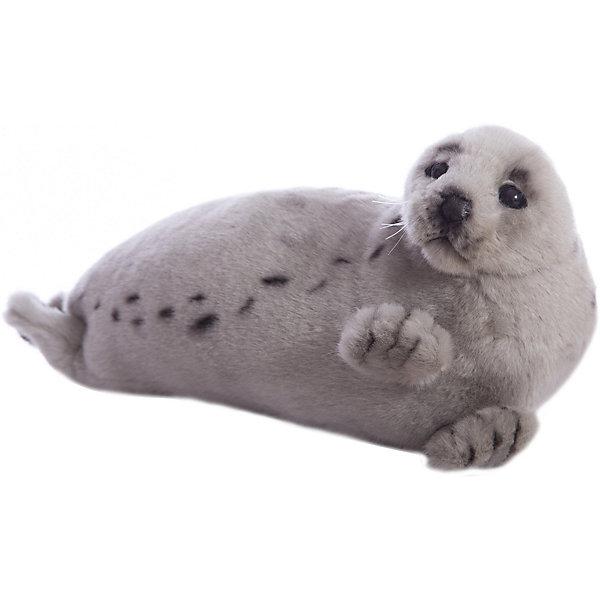 Гренландский тюлень, 38 смМягкие игрушки животные<br>Гренландский тюлень, 38 см – игрушка от знаменитого бренда Hansa, специализирующегося на выпуске мягких игрушек с высокой степенью натуралистичности. Внешний вид игрушечного тюленя полностью соответствует реальному прототипу. Он выполнен из искусственного меха с коротким ворсом серого оттенка, по бокам – темные пятнышки. Использованные материалы обладают гипоаллергенными свойствами. Внутри игрушки имеется металлический каркас, позволяющий изменять положение. <br>Игрушка относится к серии Дикие животные. <br>Мягкие игрушки от Hansa подходят для сюжетно-ролевых игр, для обучающих игр, направленных на знакомство с животным миром дикой природы. Кроме того, их можно использовать в качестве интерьерных игрушек. Коллекция из нескольких игрушек позволяет создать свой домашний зоопарк, который будет радовать вашего ребенка долгое время, так как ручная работа и качественные материалы гарантируют их долговечность и прочность.<br><br>Дополнительная информация:<br><br>- Вид игр: сюжетно-ролевые игры, коллекционирование, интерьерные игрушки<br>- Предназначение: для дома, для детских развивающих центров, для детских садов<br>- Материал: искусственный мех, наполнитель ? полиэфирное волокно<br>- Размер (ДхШхВ): 38*18*16 см<br>- Вес: 320 г<br>- Особенности ухода: сухая чистка при помощи пылесоса или щетки для одежды<br><br>Подробнее:<br><br>• Для детей в возрасте: от 3 лет <br>• Страна производитель: Филиппины<br>• Торговый бренд: Hansa<br><br>Гренландского тюленя, 38 см можно купить в нашем интернет-магазине.<br>Ширина мм: 38; Глубина мм: 18; Высота мм: 16; Вес г: 320; Возраст от месяцев: 36; Возраст до месяцев: 2147483647; Пол: Унисекс; Возраст: Детский; SKU: 4927176;