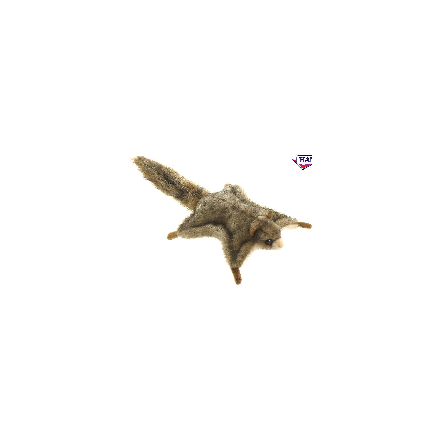 Белка летяга, 21 смЗвери и птицы<br>Белка летяга, 21 см – игрушка от знаменитого бренда Hansa, специализирующегося на выпуске мягких игрушек с высокой степенью натуралистичности. Внешний вид игрушечной белки полностью соответствует реальному прототипу – разновидности белок, которые в прыжке имитируют полет. Игрушка выполнена из меха пестрого окраса с ворсом средней длины, обладает гипоаллергенными свойствами. Внутри имеется металлический каркас, который позволяет изменять положение. Игрушка относится к серии Хищные животные. <br>Мягкие игрушки от Hansa подходят для сюжетно-ролевых игр или для обучающих игр. Форма игрушки позволяет использовать ее  для оформления интерьера, такая белка прекрасно будет смотреться на спинке кресла или дивана. Игрушки от Hansa будут радовать вашего ребенка долгое время, так как ручная работа и качественные материалы гарантируют их долговечность и прочность. <br><br>Дополнительная информация:<br><br>- Вид игр: сюжетно-ролевые игры, коллекционирование, интерьерные игрушки<br>- Предназначение: для дома, для детских развивающих центров, для детских садов<br>- Материал: искусственный мех, наполнитель ? полиэфирное волокно<br>- Размер (ДхШхВ): 21*6*21 см<br>- Вес: 360 г<br>- Особенности ухода: сухая чистка при помощи пылесоса или щетки для одежды<br><br>Подробнее:<br><br>• Для детей в возрасте: от 3 лет <br>• Страна производитель: Филиппины<br>• Торговый бренд: Hansa<br><br>Белку летягу, 21 см можно купить в нашем интернет-магазине.<br><br>Ширина мм: 21<br>Глубина мм: 6<br>Высота мм: 21<br>Вес г: 360<br>Возраст от месяцев: 36<br>Возраст до месяцев: 2147483647<br>Пол: Унисекс<br>Возраст: Детский<br>SKU: 4927179