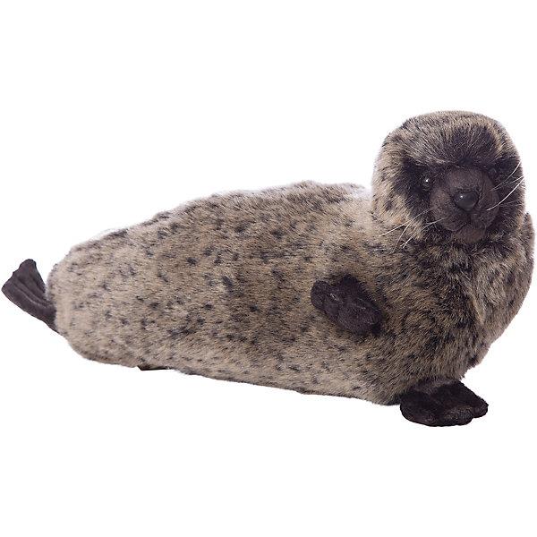 Тюлень, 38 смМягкие игрушки животные<br>Тюлень, 38 см – игрушка от знаменитого бренда Hansa, специализирующегося на выпуске мягких игрушек с высокой степенью натуралистичности. Внешний вид игрушки полностью соответствует реальному прототипу –  пятнистому тюленю. Он выполнен из искусственного меха с коротким ворсом. Окрас меха выполнен в серо-коричневых оттенках. Внутри имеется металлический каркас, который позволяет изменять положение. <br>Игрушка относится к серии Дикие животные. Выполнена из искусственного меха, обладающего гипоаллергенными свойствами.   <br>Мягкие игрушки от Hansa подходят для сюжетно-ролевых игр, для обучающих игр, направленных на знакомство с животным миром дикой природы. Кроме того, их можно использовать в качестве интерьерных игрушек. Коллекция из нескольких игрушек позволяет создать свой домашний зоопарк, который будет радовать вашего ребенка долгое время, так как ручная работа и качественные материалы гарантируют их долговечность и прочность.<br><br>Дополнительная информация:<br><br>- Вид игр: сюжетно-ролевые игры, коллекционирование, интерьерные игрушки<br>- Предназначение: для дома, для детских развивающих центров, для детских садов<br>- Материал: искусственный мех, наполнитель ? полиэфирное волокно<br>- Размер (ДхШхВ): 38*17*19 см<br>- Вес: 750 г<br>- Особенности ухода: сухая чистка при помощи пылесоса или щетки для одежды<br><br>Подробнее:<br><br>• Для детей в возрасте: от 3 лет <br>• Страна производитель: Филиппины<br>• Торговый бренд: Hansa<br><br>Тюленя, 38 см можно купить в нашем интернет-магазине.<br>Ширина мм: 38; Глубина мм: 17; Высота мм: 19; Вес г: 750; Возраст от месяцев: 36; Возраст до месяцев: 2147483647; Пол: Унисекс; Возраст: Детский; SKU: 4927186;