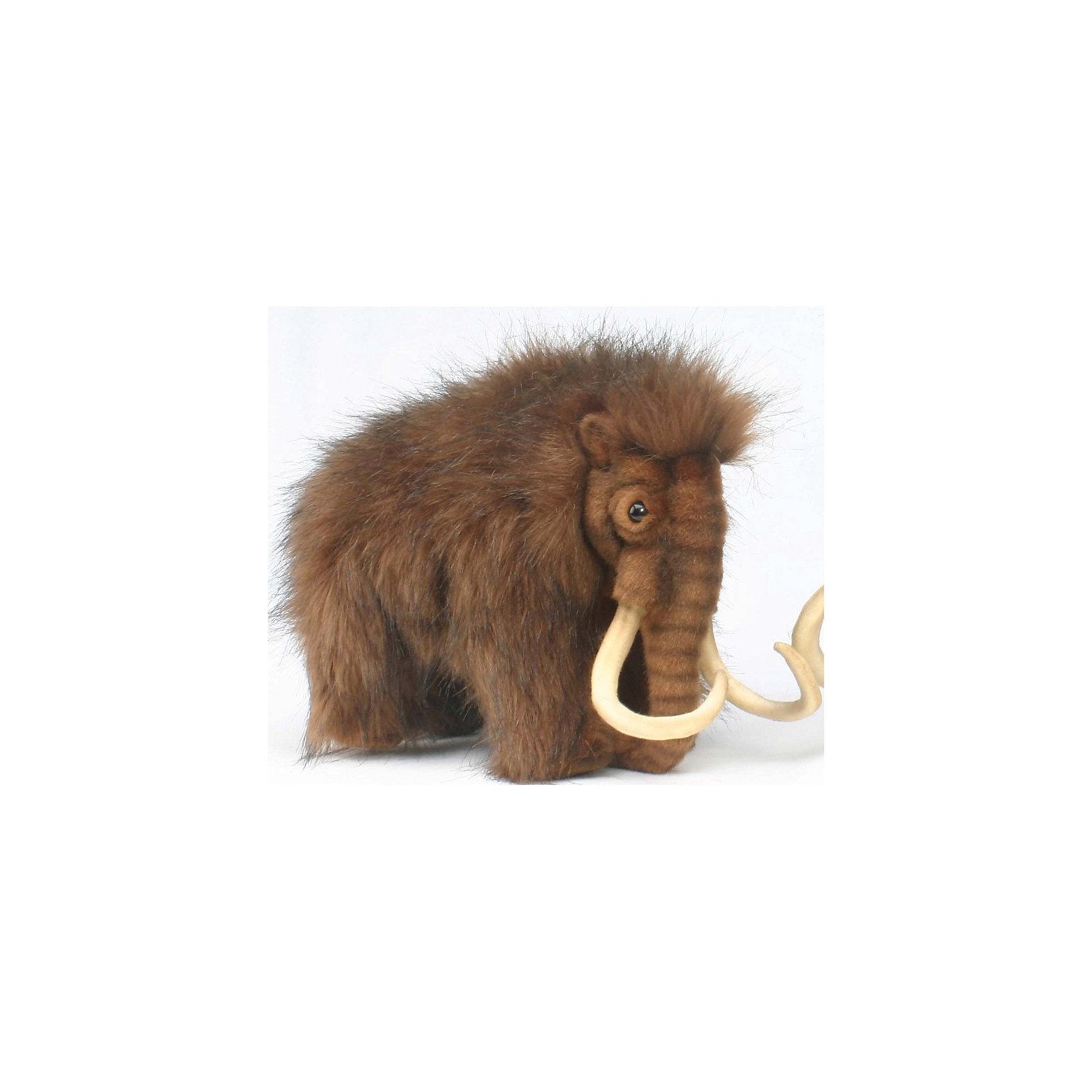 Мамонт, 32 смМамонт, 32 см – игрушка от знаменитого бренда Hansa, специализирующегося на выпуске мягких игрушек с высокой степенью натуралистичности. Внешний вид игрушечного мамонта полностью соответствует восстановленому облику животного, обитавшего в доисторический период. Игрушка выполнена из меха с длинным ворсом коричневого цвета.  Использованные материалы обладают гипоаллергенными свойствами. Внутри игрушки имеется металлический каркас, позволяющий изменять положение. <br>Игрушка относится к серии Доисторические животные. <br>Мягкие игрушки от Hansa подходят для сюжетно-ролевых игр, для обучающих игр, направленных на знакомство с животным миром дикой природы. Кроме того, их можно использовать в качестве интерьерных игрушек. Коллекция из нескольких игрушек позволяет воссоздать доисторическую эпоху. Игрушки от Hansa, будут радовать вашего ребенка долгое время, так как ручная работа и качественные материалы гарантируют их долговечность и прочность.<br><br>Дополнительная информация:<br><br>- Вид игр: сюжетно-ролевые игры, коллекционирование, интерьерные игрушки<br>- Предназначение: для дома, для детских развивающих центров, для детских садов<br>- Материал: искусственный мех, пластик, наполнитель ? полиэфирное волокно<br>- Размер (ДхШхВ): 32*23*15 см<br>- Вес: 720 г<br>- Особенности ухода: сухая чистка при помощи пылесоса или щетки для одежды<br><br>Подробнее:<br><br>• Для детей в возрасте: от 3 лет <br>• Страна производитель: Филиппины<br>• Торговый бренд: Hansa<br><br>Мамонта, 32 см можно купить в нашем интернет-магазине.<br><br>Ширина мм: 32<br>Глубина мм: 23<br>Высота мм: 15<br>Вес г: 720<br>Возраст от месяцев: 36<br>Возраст до месяцев: 2147483647<br>Пол: Унисекс<br>Возраст: Детский<br>SKU: 4927193