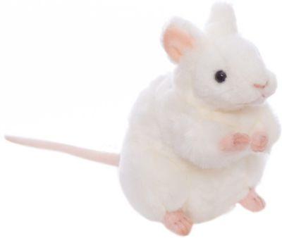 Hansa Белая мышь, 16 см