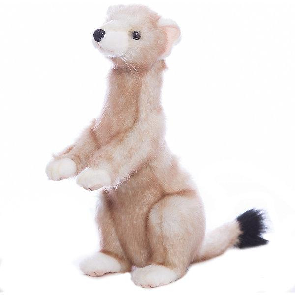 Японский горностай, 28 смМягкие игрушки животные<br>Японский горностай, 28 см – игрушка от знаменитого бренда Hansa, специализирующегося на выпуске мягких игрушек с высокой степенью натуралистичности. Внешний вид игрушки полностью соответствует реальному прототипу – хорьку. Он выполнен из искусственного меха с ворсом средней длины. Окрас шкурки соответствует окрасу животного в летний период – коричневато-желтые оттенки и черный кончик хвостика. Использованные материалы обладают гипоаллергенными свойствами. Внутри игрушки имеется металлический каркас, позволяющий изменять положение. <br>Игрушка относится к серии Дикие животные. <br>Мягкие игрушки от Hansa подходят для сюжетно-ролевых игр, для обучающих игр, направленных на знакомство с животным миром дикой природы. Кроме того, их можно использовать в качестве интерьерных игрушек. Коллекция из нескольких игрушек позволяет создать свой домашний зоопарк, который будет радовать вашего ребенка долгое время, так как ручная работа и качественные материалы гарантируют их долговечность и прочность.<br><br>Дополнительная информация:<br><br>- Вид игр: сюжетно-ролевые игры, коллекционирование, интерьерные игрушки<br>- Предназначение: для дома, для детских развивающих центров, для детских садов<br>- Материал: искусственный мех, наполнитель ? полиэфирное волокно<br>- Размер (ДхШхВ): 28*14*20 см<br>- Вес: 500 г<br>- Особенности ухода: сухая чистка при помощи пылесоса или щетки для одежды<br><br>Подробнее:<br><br>• Для детей в возрасте: от 3 лет <br>• Страна производитель: Филиппины<br>• Торговый бренд: Hansa<br><br>Японского горностая, 28 см можно купить в нашем интернет-магазине.<br><br>Ширина мм: 28<br>Глубина мм: 14<br>Высота мм: 20<br>Вес г: 500<br>Возраст от месяцев: 36<br>Возраст до месяцев: 2147483647<br>Пол: Унисекс<br>Возраст: Детский<br>SKU: 4927215