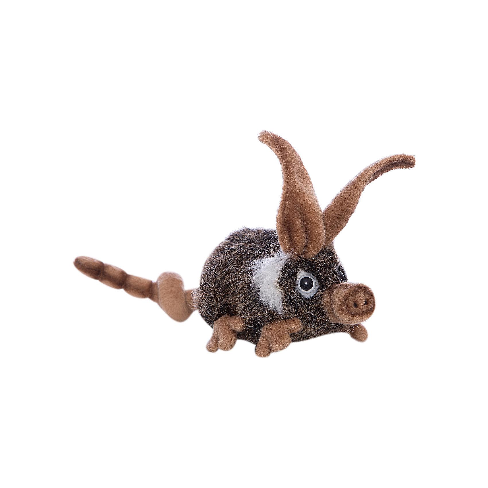 Лесная свинья, 15 смЗвери и птицы<br>Лесная свинья, 15 см – игрушка от знаменитого бренда Hansa, специализирующегося на выпуске мягких игрушек с высокой степенью натуралистичности. Внешний вид игрушки полностью соответствует своему реальному прототипу – лесной свинье. Она выполнена из искусственного меха с ворсом средней длины темного оттенка, лапки, ушки, хвостик и пятачок – светло-бежевого цвета. Использованные материалы обладают гипоаллергенными свойствами. Внутри игрушки имеется металлический каркас, позволяющий изменять положение. <br>Игрушка относится к серии Дикие животные. <br>Мягкие игрушки от Hansa подходят для сюжетно-ролевых игр, для обучающих игр, направленных на знакомство с животным миром дикой природы. Кроме того, их можно использовать в качестве интерьерных игрушек. Коллекция из нескольких игрушек позволяет создать свой домашний зоопарк, который будет радовать вашего ребенка долгое время, так как ручная работа и качественные материалы гарантируют их долговечность и прочность.<br><br>Дополнительная информация:<br><br>- Вид игр: сюжетно-ролевые игры, коллекционирование, интерьерные игрушки<br>- Предназначение: для дома, для детских развивающих центров, для детских садов<br>- Материал: искусственный мех, наполнитель ? полиэфирное волокно<br>- Размер (ДхШхВ): 8*14*15 см<br>- Вес: 450 г<br>- Особенности ухода: сухая чистка при помощи пылесоса или щетки для одежды<br><br>Подробнее:<br><br>• Для детей в возрасте: от 3 лет <br>• Страна производитель: Филиппины<br>• Торговый бренд: Hansa<br><br>Лесную свинью, 15 см можно купить в нашем интернет-магазине.<br><br>Ширина мм: 8<br>Глубина мм: 14<br>Высота мм: 15<br>Вес г: 450<br>Возраст от месяцев: 36<br>Возраст до месяцев: 2147483647<br>Пол: Унисекс<br>Возраст: Детский<br>SKU: 4927216