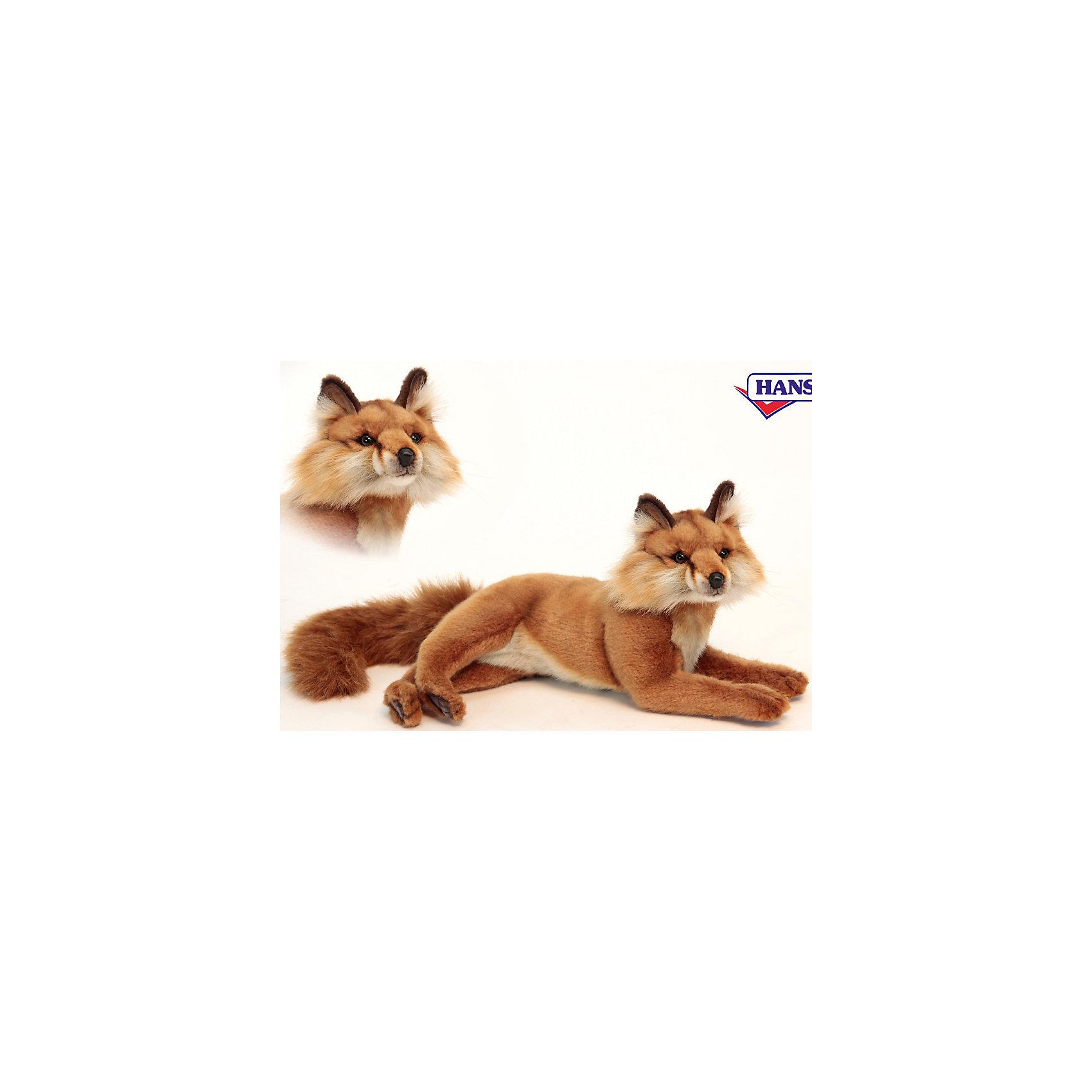 Рыжая лиса, 40 смМягкие игрушки животные<br>Рыжая лиса, 40 см – игрушка от знаменитого бренда Hansa, специализирующегося на выпуске мягких игрушек с высокой степенью натуралистичности. Внешний игрушки полностью соответствует реальному прототипу – лисице обыкновенной. Игрушка выполнена из ярко-коричневого меха с ворсом разной длины, который обладает гипоаллергенными свойствами. У игрушечной лисы пушистая мордочка и хвост. Внутри имеется металлический каркас, который позволяет изменять положение. Игрушка относится к серии Дикие животные. <br>Мягкие игрушки от Hansa подходят для сюжетно-ролевых игр или для обучающих игр. Кроме того, их можно использовать в качестве интерьерных игрушек. Игрушки от Hansa будут радовать вашего ребенка долгое время, так как ручная работа и качественные материалы гарантируют их долговечность и прочность.<br><br>Дополнительная информация:<br><br>- Вид игр: сюжетно-ролевые игры, коллекционирование, интерьерные игрушки<br>- Предназначение: для дома, для детских развивающих центров, для детских садов<br>- Материал: искусственный мех, наполнитель ? полиэфирное волокно<br>- Размер (ДхШхВ): 40*20*14 см<br>- Вес: 620 г<br>- Особенности ухода: сухая чистка при помощи пылесоса или щетки для одежды<br><br>Подробнее:<br><br>• Для детей в возрасте: от 3 лет <br>• Страна производитель: Филиппины<br>• Торговый бренд: Hansa<br><br>Рыжую лису, 40 см можно купить в нашем интернет-магазине.<br><br>Ширина мм: 40<br>Глубина мм: 20<br>Высота мм: 14<br>Вес г: 620<br>Возраст от месяцев: 36<br>Возраст до месяцев: 2147483647<br>Пол: Унисекс<br>Возраст: Детский<br>SKU: 4927217
