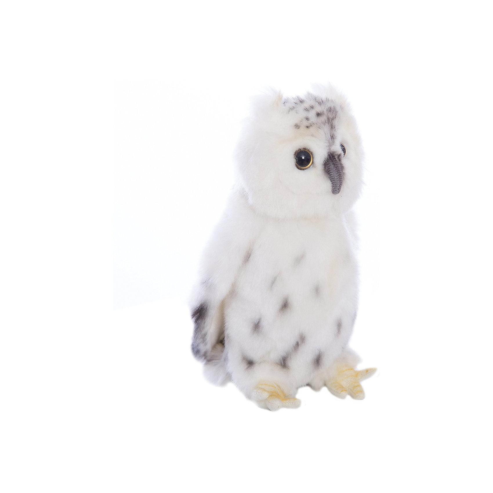 Белая сова, 18 смМягкие игрушки животные<br>Белая сова, 18 см – игрушка от знаменитого бренда Hansa, специализирующегося на выпуске мягких игрушек с высокой степенью натуралистичности. Внешний вид игрушечной совы полностью соответствует реальному прототипу – полярной сове. Игрушка выполнена из светлого меха с коротким ворсом, обладает гипоаллергенными свойствами. Внутри имеется металлический каркас, который позволяет изменять положение. Игрушка относится к серии Хищные птицы. <br>Мягкие игрушки от Hansa подходят для сюжетно-ролевых игр или для обучающих игр. Кроме того, их можно использовать в качестве интерьерных игрушек. Игрушки от Hansa будут радовать вашего ребенка долгое время, так как ручная работа и качественные материалы гарантируют их долговечность и прочность.<br><br>Дополнительная информация:<br><br>- Вид игр: сюжетно-ролевые игры, коллекционирование, интерьерные игрушки<br>- Предназначение: для дома, для детских развивающих центров, для детских садов<br>- Материал: искусственный мех, наполнитель ? полиэфирное волокно<br>- Размер (ДхШхВ): 18*10*10 см<br>- Вес: 300 г<br>- Особенности ухода: сухая чистка при помощи пылесоса или щетки для одежды<br><br>Подробнее:<br><br>• Для детей в возрасте: от 3 лет <br>• Страна производитель: Филиппины<br>• Торговый бренд: Hansa<br><br>Белую сову, 18 см можно купить в нашем интернет-магазине.<br><br>Ширина мм: 18<br>Глубина мм: 10<br>Высота мм: 10<br>Вес г: 300<br>Возраст от месяцев: 36<br>Возраст до месяцев: 2147483647<br>Пол: Унисекс<br>Возраст: Детский<br>SKU: 4927224