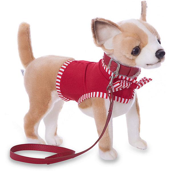 Чихуахуа, 27 смСимвол года<br>Чихуахуа, 27 см – игрушка от знаменитого бренда Hansa, специализирующегося на выпуске мягких игрушек с высокой степенью натуралистичности. Внешний вид игрушечной собаки полностью соответствует своему реальному прототипу – собаке породы Чихуахуа. Она выполнена из искусственного меха светло-коричневого цвета с коротким ворсом, грудка и внутренняя часть лапок – из белого меха. В комплекте с игрушкой имеется ошейник, поводок и легкая курточка для собаки. Использованные материалы обладают гипоаллергенными свойствами. Внутри игрушки имеется металлический каркас, позволяющий изменять положение. <br>Игрушка относится к серии Домашние животные. <br>Мягкие игрушки от Hansa подходят для сюжетно-ролевых игр, для обучающих игр, направленных на знакомство с миром живой природы. Кроме того, их можно использовать в качестве интерьерных игрушек. Представленные у торгового бренда разнообразие игрушечных собак позволяет собрать свою коллекцию пород, которая будет радовать вашего ребенка долгое время, так как ручная работа и качественные материалы гарантируют их долговечность и прочность.<br><br>Дополнительная информация:<br><br>- Вид игр: сюжетно-ролевые игры, коллекционирование, интерьерные игрушки<br>- Предназначение: для дома, для детских развивающих центров, для детских садов<br>- Материал: искусственный мех, текстиль, наполнитель ? полиэфирное волокно<br>- Размер (ДхШхВ): 27*24*11 см<br>- Вес: 900 г<br>- Особенности ухода: сухая чистка при помощи пылесоса или щетки для одежды<br><br>Подробнее:<br><br>• Для детей в возрасте: от 3 лет <br>• Страна производитель: Филиппины<br>• Торговый бренд: Hansa<br><br>Чихуахуа, 27 см можно купить в нашем интернет-магазине.<br><br>Ширина мм: 27<br>Глубина мм: 24<br>Высота мм: 11<br>Вес г: 600<br>Возраст от месяцев: 36<br>Возраст до месяцев: 2147483647<br>Пол: Унисекс<br>Возраст: Детский<br>SKU: 4927229