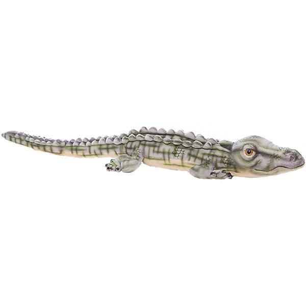 Крокодил гребнистый (морской), 70 смМягкие игрушки животные<br>Крокодил гребнистый (морской), 70 см – игрушка от знаменитого бренда Hansa, специализирующегося на выпуске мягких игрушек с высокой степенью натуралистичности. Внешний вид игрушки полностью соответствует своему реальному прототипу – морскому крокодилу. Он выполнен из искусственного меха с коротким ворсом, окрашенного с учетом особенностей облика этого хищника. Использованные материалы обладают гипоаллергенными свойствами. Внутри игрушки имеется металлический каркас, позволяющий изменять положение. <br>Игрушка относится к серии Дикие животные. <br>Мягкие игрушки от Hansa подходят для сюжетно-ролевых игр, для обучающих игр, направленных на знакомство с животным миром дикой природы. Кроме того, их можно использовать в качестве интерьерных игрушек. Коллекция из нескольких игрушек позволяет создать свой домашний зоопарк, который будет радовать вашего ребенка долгое время, так как ручная работа и качественные материалы гарантируют их долговечность и прочность.<br><br>Дополнительная информация:<br><br>- Вид игр: сюжетно-ролевые игры, коллекционирование, интерьерные игрушки<br>- Предназначение: для дома, для детских развивающих центров, для детских садов<br>- Материал: искусственный мех, наполнитель ? полиэфирное волокно<br>- Размер (ДхШхВ): 9*15*70 см<br>- Вес: 360 г<br>- Особенности ухода: сухая чистка при помощи пылесоса или щетки для одежды<br><br>Подробнее:<br><br>• Для детей в возрасте: от 3 лет <br>• Страна производитель: Филиппины<br>• Торговый бренд: Hansa<br><br>Крокодила гребнистого (морского), 70 см можно купить в нашем интернет-магазине.<br>Ширина мм: 9; Глубина мм: 15; Высота мм: 70; Вес г: 360; Возраст от месяцев: 36; Возраст до месяцев: 2147483647; Пол: Унисекс; Возраст: Детский; SKU: 4927232;