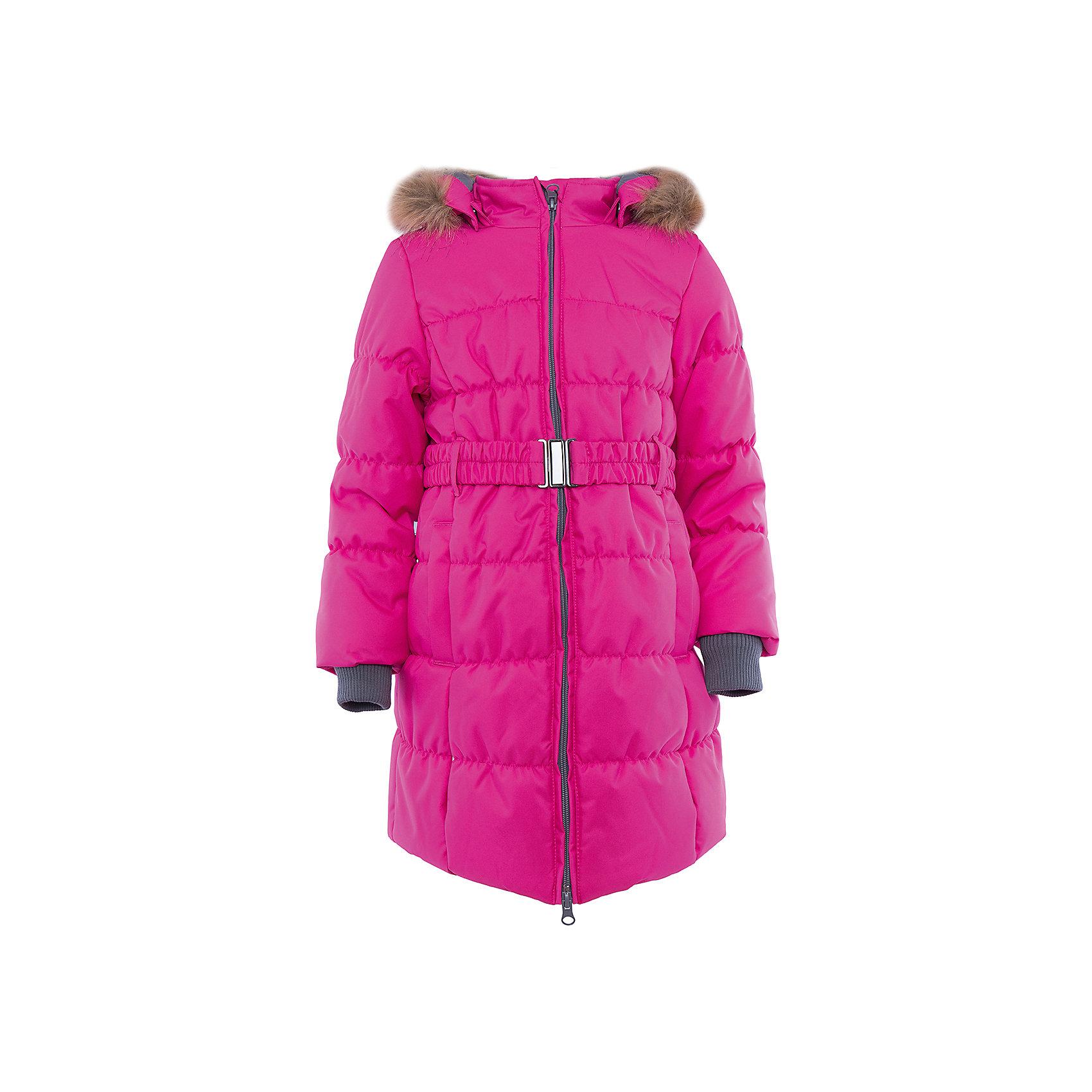 Пальто   для девочки HuppaЗимние куртки<br>Пальто YACARANDA Huppa(Хуппа).<br><br>Утеплитель: 100% полиэстер, 300 гр.<br><br>Температурный режим: до -30 градусов. Степень утепления – высокая. <br><br>* Температурный режим указан приблизительно — необходимо, прежде всего, ориентироваться на ощущения ребенка. Температурный режим работает в случае соблюдения правила многослойности – использования флисовой поддевы и термобелья.<br><br>Идеально подойдет девочке в холодную погоду. Пальто имеет приталенный силуэт, внутренние вязаные манжеты, двойную молнию и большой отстегивающийся капюшон с искусственным мехом. Водонепроницаемая поверхность в сочетании с утеплителем помогут девочке оставаться в тепле и сухости в течение всей прогулки. Пальто легко стирается и быстро сохнет. Все ткани очень прочные и защищены от истирания. Прекрасно подойдет для зимы.<br><br>Дополнительная информация:<br>Материал: 100% полиэстер<br>Подкладка: тафта - 100% полиэстер, флис - 100% полиэстер<br>Цвет: фуксия<br><br>Вы можете приобрести пальто YACARANDA Huppa(Хуппа) в нашем интернет-магазине.<br><br>Ширина мм: 356<br>Глубина мм: 10<br>Высота мм: 245<br>Вес г: 519<br>Цвет: розовый<br>Возраст от месяцев: 36<br>Возраст до месяцев: 48<br>Пол: Женский<br>Возраст: Детский<br>Размер: 104,170,110,116,122,128,134,140,146,152,158,164<br>SKU: 4928048