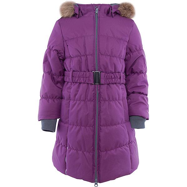 Пальто Huppa Yacaranda для девочкиЗимние куртки<br>Характеристики товара:<br><br>• модель: Yacaranda;<br>• цвет: фиолетовый;<br>• состав: 100% полиэстер; <br>• подкладка: 100% полиэстер, тафта, флис;<br>• утеплитель: 300 г/м2, 100% полиэстер;<br>• сезон: зима;<br>• температурный режим: от -5 до - 30С;<br>• водонепроницаемость: 10000 мм ;<br>• воздухопроницаемость:10000 г/м2/24ч;<br>• особенности модели: с мехом на капюшоне;<br>• трикотажные манжеты;<br>• безопасный съемный капюшон на кнопках;<br>• искусственный мех на капюшоне не съемный;<br>• защита подбородка от защемления;<br>• светоотражающие элементы для безопасности ребенка;<br>• страна бренда: Эстония;<br>• страна изготовитель: Эстония.<br><br>Теплое зимнее пальто для девочек. Это универсальная недорогая модель подойдет как для школы, так и для долгих зимних прогулок. Современный утеплитель HuppaTherm отлично греет даже при очень низких температурах, а высококачественная мембрана не пропускает влагу, ветер и снег.<br>Приталенный силуэт подчеркнут поясом на застежке. На рукавах есть внутренние манжеты из трикотажа, которые плотно облегают запястья для дополнительного тепла и защиты от продувания. Капюшон на кнопках дополнен опушкой из искусственного меха.<br>Функциональные элементы: капюшон отстегивается с помощью кнопок, мех не отстегивается, защита подбородка от защемления, карманы без застежек, трикотажные манжеты, светоотражающие элементы.<br><br>Пальто Yacaranda от бренда Huppa (Хуппа) можно купить в нашем интернет-магазине.<br>Ширина мм: 356; Глубина мм: 10; Высота мм: 245; Вес г: 519; Цвет: лиловый; Возраст от месяцев: 36; Возраст до месяцев: 48; Пол: Женский; Возраст: Детский; Размер: 104,170,164,158,152,146,140,134,128,122,116,110; SKU: 4928061;