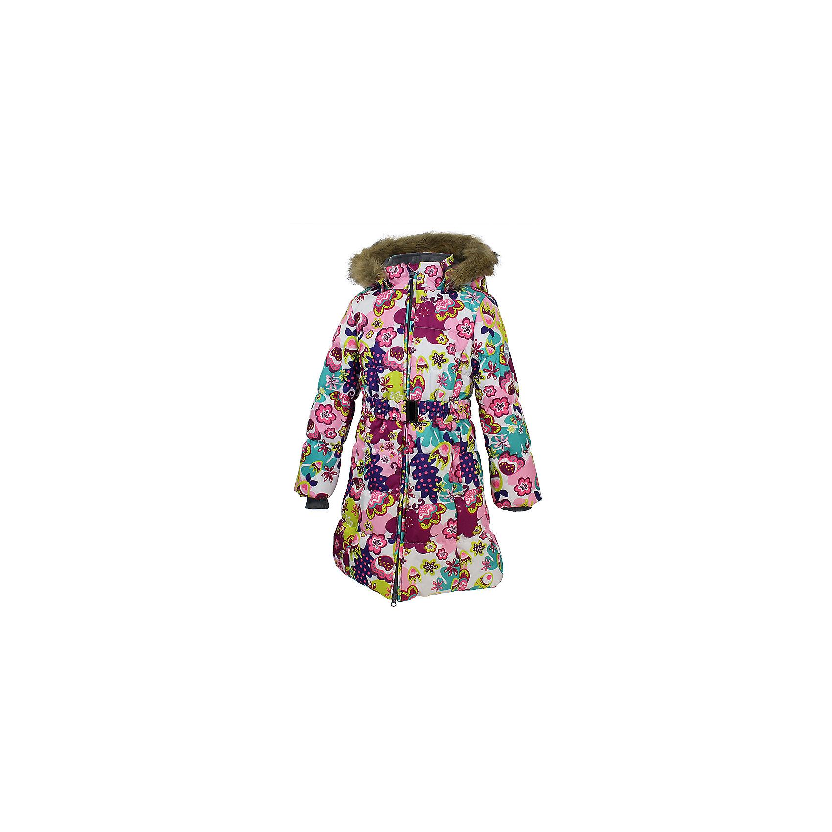 Huppa Пальто Yacaranda для девочки Huppa