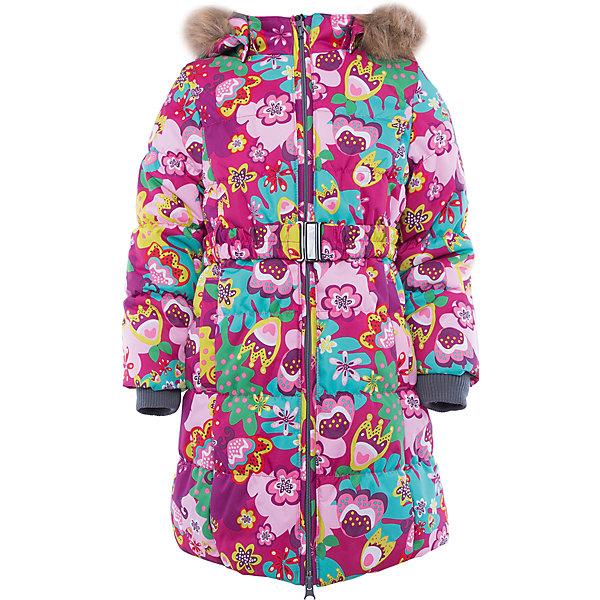 Пальто   для девочки HuppaВерхняя одежда<br>Пальто YACARANDA Huppa(Хуппа).<br><br>Утеплитель: 100% полиэстер, 300 гр.<br><br>Температурный режим: до -30 градусов. Степень утепления – высокая. <br><br>* Температурный режим указан приблизительно — необходимо, прежде всего, ориентироваться на ощущения ребенка. Температурный режим работает в случае соблюдения правила многослойности – использования флисовой поддевы и термобелья.<br><br>Идеально подойдет девочке в холодную погоду. Пальто имеет приталенный силуэт, внутренние вязаные манжеты, двойную молнию и большой отстегивающийся капюшон с искусственным мехом. Водонепроницаемая поверхность в сочетании с утеплителем помогут девочке оставаться в тепле и сухости в течение всей прогулки. Пальто легко стирается и быстро сохнет. Все ткани очень прочные и защищены от истирания. Прекрасно подойдет для зимы.<br><br>Дополнительная информация:<br>Материал: 100% полиэстер<br>Подкладка: тафта - 100% полиэстер, флис - 100% полиэстер<br>Цвет: розовый/фуксия<br><br>Вы можете приобрести пальто YACARANDA Huppa(Хуппа) в нашем интернет-магазине.<br><br>Ширина мм: 356<br>Глубина мм: 10<br>Высота мм: 245<br>Вес г: 519<br>Цвет: pink/gelb<br>Возраст от месяцев: 36<br>Возраст до месяцев: 48<br>Пол: Женский<br>Возраст: Детский<br>Размер: 104,158,152,146,140,134,128,122,116,110<br>SKU: 4928096