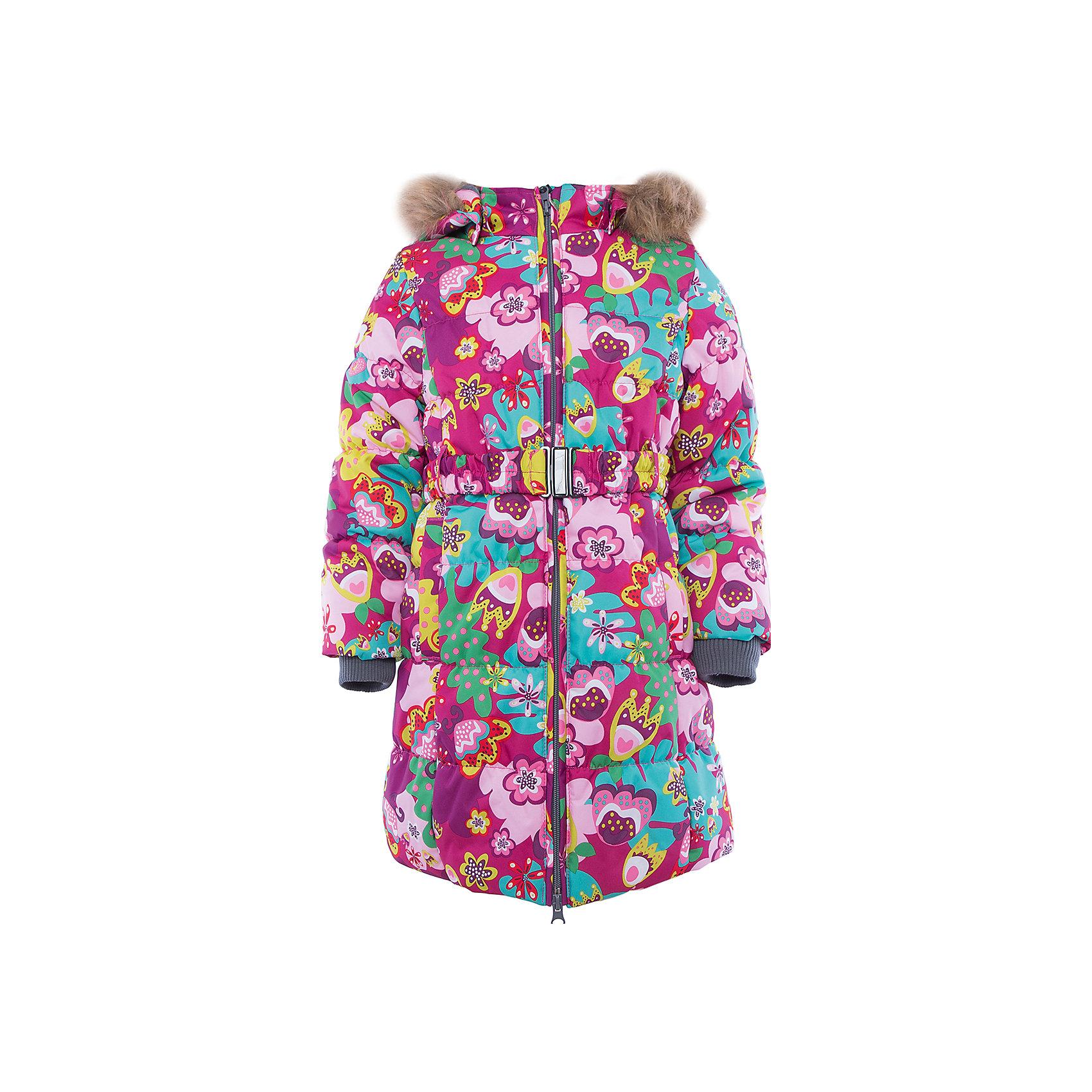 Пальто   для девочки HuppaЗимние куртки<br>Пальто YACARANDA Huppa(Хуппа).<br><br>Утеплитель: 100% полиэстер, 300 гр.<br><br>Температурный режим: до -30 градусов. Степень утепления – высокая. <br><br>* Температурный режим указан приблизительно — необходимо, прежде всего, ориентироваться на ощущения ребенка. Температурный режим работает в случае соблюдения правила многослойности – использования флисовой поддевы и термобелья.<br><br>Идеально подойдет девочке в холодную погоду. Пальто имеет приталенный силуэт, внутренние вязаные манжеты, двойную молнию и большой отстегивающийся капюшон с искусственным мехом. Водонепроницаемая поверхность в сочетании с утеплителем помогут девочке оставаться в тепле и сухости в течение всей прогулки. Пальто легко стирается и быстро сохнет. Все ткани очень прочные и защищены от истирания. Прекрасно подойдет для зимы.<br><br>Дополнительная информация:<br>Материал: 100% полиэстер<br>Подкладка: тафта - 100% полиэстер, флис - 100% полиэстер<br>Цвет: розовый/фуксия<br><br>Вы можете приобрести пальто YACARANDA Huppa(Хуппа) в нашем интернет-магазине.<br><br>Ширина мм: 356<br>Глубина мм: 10<br>Высота мм: 245<br>Вес г: 519<br>Цвет: pink/gelb<br>Возраст от месяцев: 36<br>Возраст до месяцев: 48<br>Пол: Женский<br>Возраст: Детский<br>Размер: 104,158,110,116,122,128,134,140,146,152<br>SKU: 4928096