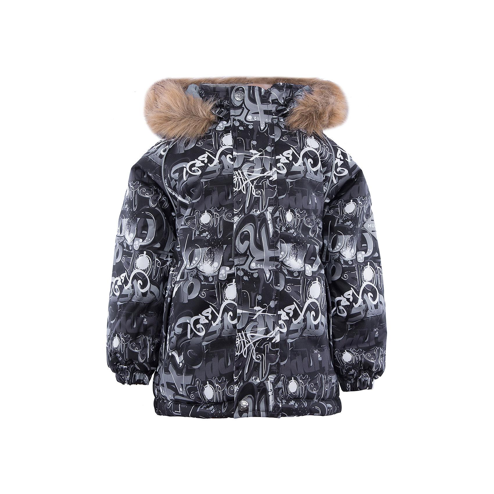 Huppa Куртка   для мальчика Huppa куртка для мальчика huppa jody цвет серый белый желтый 17000004 73148 размер 140