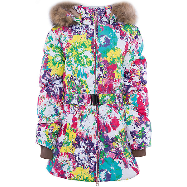 Куртка   для девочки HuppaВерхняя одежда<br>Стильная и необычная куртка LESLIE1 Huppa(Хуппа).<br><br>Утеплитель: 50% пух, 50% перо<br><br>Температурный режим: до -30 градусов. Степень утепления – высокая. <br><br>* Температурный режим указан приблизительно — необходимо, прежде всего, ориентироваться на ощущения ребенка. Температурный режим работает в случае соблюдения правила многослойности – использования флисовой поддевы и термобелья.<br><br>Согреет ребенка в холод, а приятный дизайн всегда будет радовать!<br><br>Особенности:<br>-специальная мембрана, выводящая лишнюю влагу, не позволит ветру и воде проникнуть внутрь куртки<br>-большой и удобный капюшон <br>-высококачественный гусиный пух<br>-светоотражающие элементы<br>-яркая расцветка<br>-капюшон с отстегивающимся мехом<br><br>Дополнительная информация:<br>Материал: 100% полиэстер<br>Подкладка: тафта - 100% полиэстер<br><br>Куртку LESLIE1 Huppa(Хуппа) вы можете приобрести в нашем интернет-магазине.<br><br>Ширина мм: 356<br>Глубина мм: 10<br>Высота мм: 245<br>Вес г: 519<br>Цвет: белый<br>Возраст от месяцев: 72<br>Возраст до месяцев: 84<br>Пол: Женский<br>Возраст: Детский<br>Размер: 122,104,164,158,152,146,140,134,128,116,110<br>SKU: 4928241