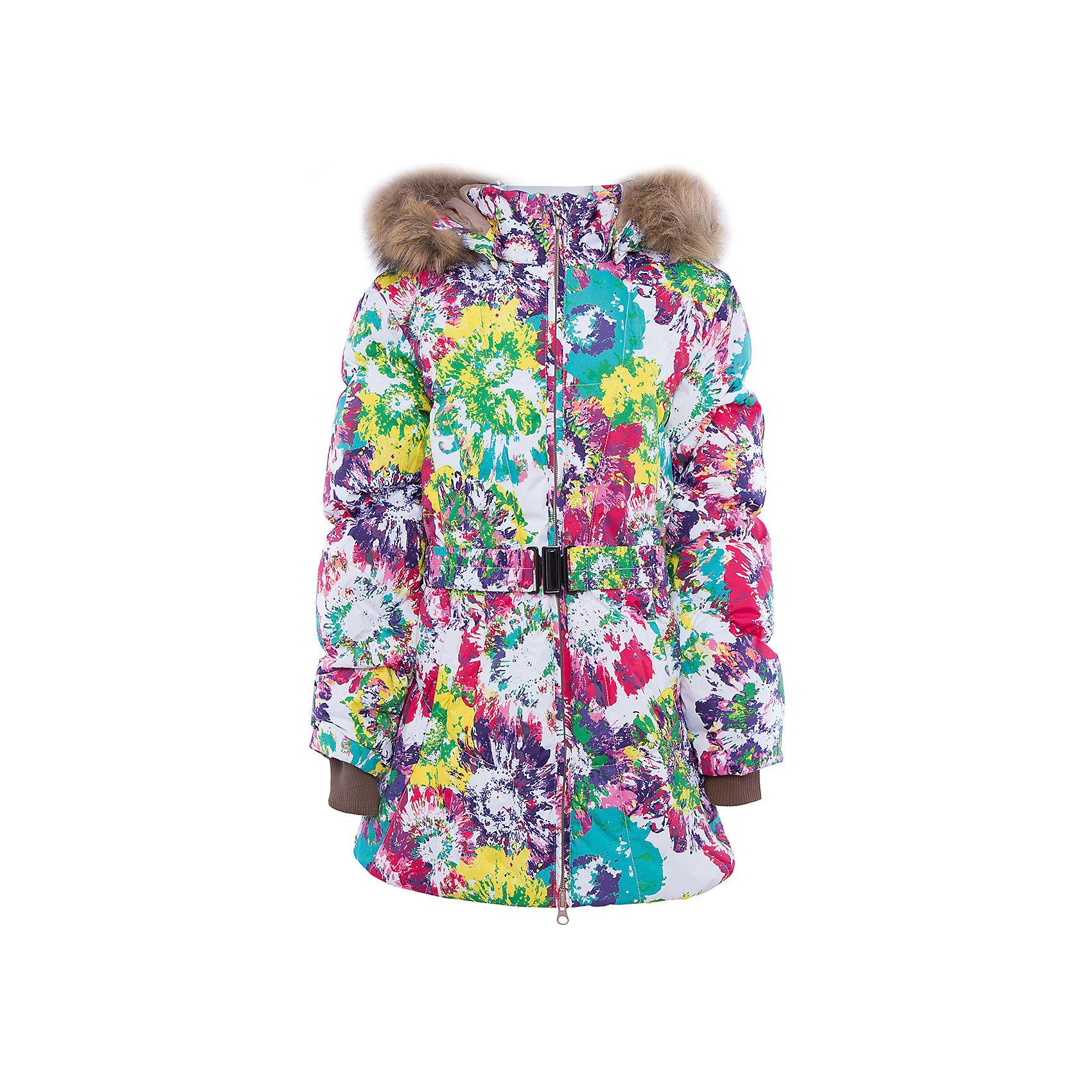 Куртка   для девочки HuppaСтильная и необычная куртка LESLIE1 Huppa(Хуппа).<br><br>Утеплитель: 50% пух, 50% перо<br><br>Температурный режим: до -30 градусов. Степень утепления – высокая. <br><br>* Температурный режим указан приблизительно — необходимо, прежде всего, ориентироваться на ощущения ребенка. Температурный режим работает в случае соблюдения правила многослойности – использования флисовой поддевы и термобелья.<br><br>Согреет ребенка в холод, а приятный дизайн всегда будет радовать!<br><br>Особенности:<br>-специальная мембрана, выводящая лишнюю влагу, не позволит ветру и воде проникнуть внутрь куртки<br>-большой и удобный капюшон <br>-высококачественный гусиный пух<br>-светоотражающие элементы<br>-яркая расцветка<br>-капюшон с отстегивающимся мехом<br><br>Дополнительная информация:<br>Материал: 100% полиэстер<br>Подкладка: тафта - 100% полиэстер<br><br>Куртку LESLIE1 Huppa(Хуппа) вы можете приобрести в нашем интернет-магазине.<br><br>Ширина мм: 356<br>Глубина мм: 10<br>Высота мм: 245<br>Вес г: 519<br>Цвет: белый<br>Возраст от месяцев: 36<br>Возраст до месяцев: 48<br>Пол: Женский<br>Возраст: Детский<br>Размер: 164,158,152,146,140,134,128,122,104,116,110<br>SKU: 4928241