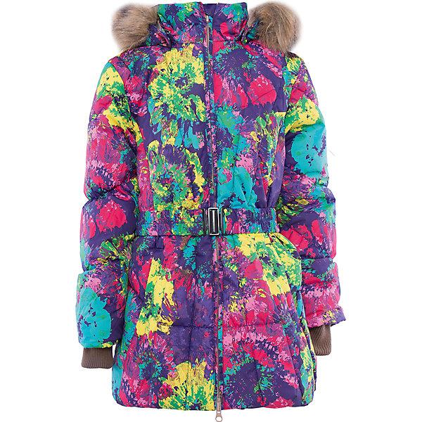 Куртка   для девочки HuppaВерхняя одежда<br>Стильная и необычная куртка LESLIE1 Huppa(Хуппа).<br><br>Утеплитель: 50% пух, 50% перо<br><br>Температурный режим: до -30 градусов. Степень утепления – высокая. <br><br>* Температурный режим указан приблизительно — необходимо, прежде всего, ориентироваться на ощущения ребенка. Температурный режим работает в случае соблюдения правила многослойности – использования флисовой поддевы и термобелья.<br><br>Согреет ребенка в холод, а приятный дизайн всегда будет радовать!<br><br>Особенности:<br>-специальная мембрана, выводящая лишнюю влагу, не позволит ветру и воде проникнуть внутрь куртки<br>-большой и удобный капюшон <br>-высококачественный гусиный пух<br>-светоотражающие элементы<br>-яркая расцветка<br>-капюшон с отстегивающимся мехом<br><br>Дополнительная информация:<br>Материал: 100% полиэстер<br>Подкладка: тафта - 100% полиэстер<br><br>Куртку LESLIE1 Huppa(Хуппа) вы можете приобрести в нашем интернет-магазине.<br><br>Ширина мм: 356<br>Глубина мм: 10<br>Высота мм: 245<br>Вес г: 519<br>Цвет: лиловый<br>Возраст от месяцев: 144<br>Возраст до месяцев: 156<br>Пол: Женский<br>Возраст: Детский<br>Размер: 158,116,164,152,146,140,110,134,104,128,122<br>SKU: 4928253
