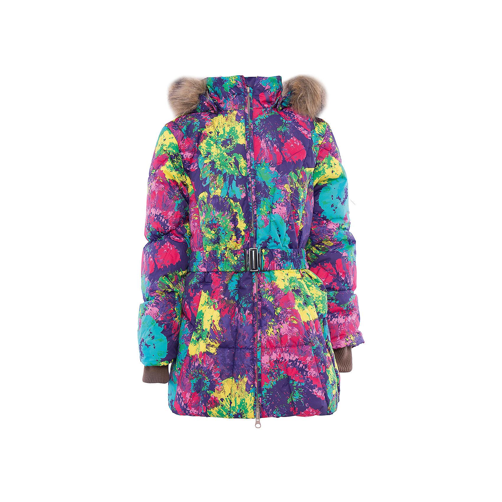 Куртка   для девочки HuppaВерхняя одежда<br>Стильная и необычная куртка LESLIE1 Huppa(Хуппа).<br><br>Утеплитель: 50% пух, 50% перо<br><br>Температурный режим: до -30 градусов. Степень утепления – высокая. <br><br>* Температурный режим указан приблизительно — необходимо, прежде всего, ориентироваться на ощущения ребенка. Температурный режим работает в случае соблюдения правила многослойности – использования флисовой поддевы и термобелья.<br><br>Согреет ребенка в холод, а приятный дизайн всегда будет радовать!<br><br>Особенности:<br>-специальная мембрана, выводящая лишнюю влагу, не позволит ветру и воде проникнуть внутрь куртки<br>-большой и удобный капюшон <br>-высококачественный гусиный пух<br>-светоотражающие элементы<br>-яркая расцветка<br>-капюшон с отстегивающимся мехом<br><br>Дополнительная информация:<br>Материал: 100% полиэстер<br>Подкладка: тафта - 100% полиэстер<br><br>Куртку LESLIE1 Huppa(Хуппа) вы можете приобрести в нашем интернет-магазине.<br><br>Ширина мм: 356<br>Глубина мм: 10<br>Высота мм: 245<br>Вес г: 519<br>Цвет: лиловый<br>Возраст от месяцев: 36<br>Возраст до месяцев: 48<br>Пол: Женский<br>Возраст: Детский<br>Размер: 104,164,110,116,122,128,134,140,146,152,158<br>SKU: 4928253