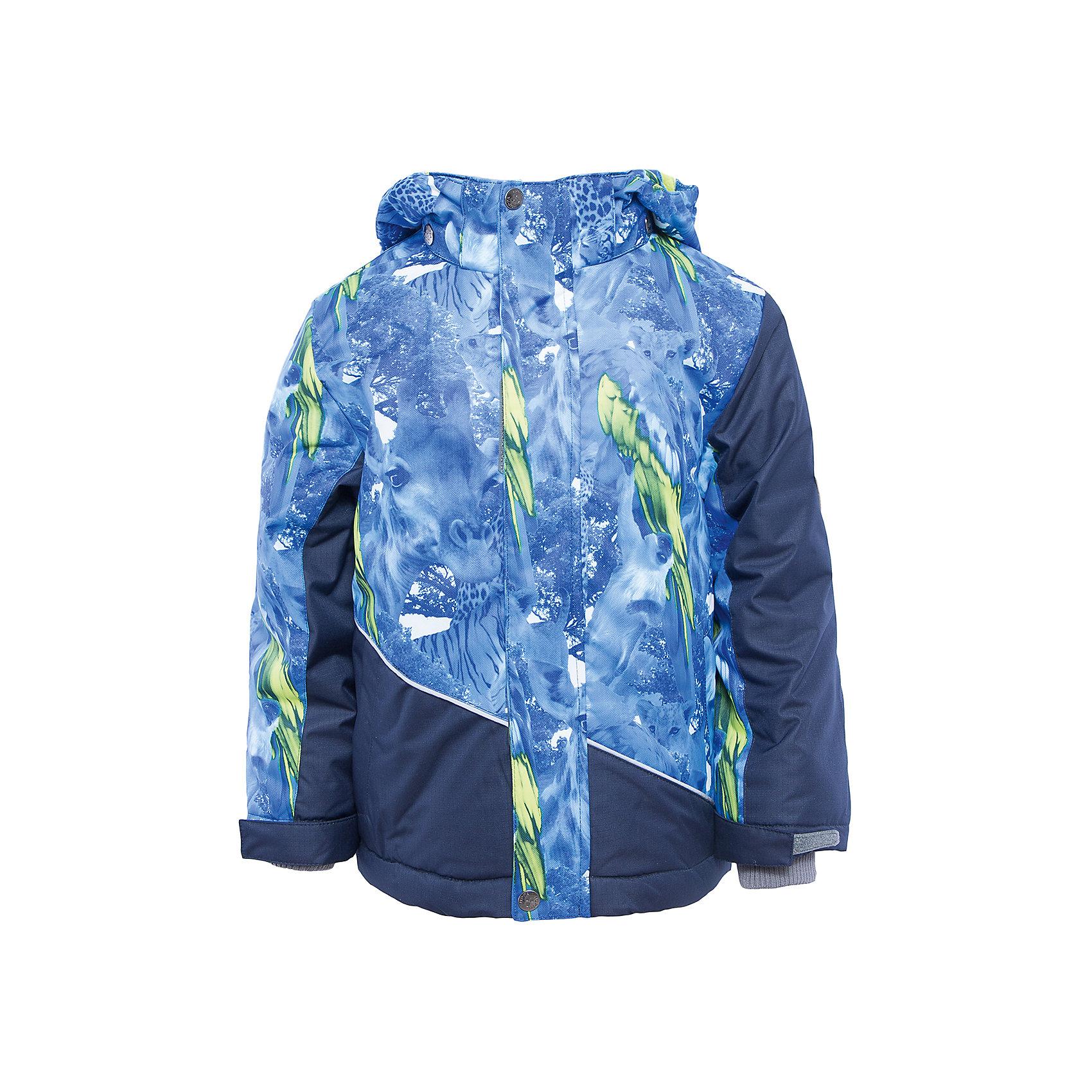 Куртка    HuppaЗимние куртки<br>Куртка ALEX Huppa(Хуппа).<br><br>Утеплитель: 100% полиэстер, 300 гр.<br><br>Температурный режим: до -30 градусов. Степень утепления – высокая. <br><br>* Температурный режим указан приблизительно — необходимо, прежде всего, ориентироваться на ощущения ребенка. Температурный режим работает в случае соблюдения правила многослойности – использования флисовой поддевы и термобелья.<br><br>Согреет ребенка даже в очень холодную зиму, а необычный дизайн привлечет внимание и придаст уверенности в себе!<br><br>Особенности:<br>-синтетический утеплитель HuppaTherm отлично сохраняет форму, легко стирается и хорошо сохнет<br>-водонепроницаемая дышащая мембрана<br>-при проклеивании швов использована водостойкая лента для повышения водонепроницаемости<br>-прочная и долговечная ткань<br>-большой капюшон и вместительные карманы<br>-светоотражающие элементы для снижения вероятности несчастных случаев в темное время суток<br>-отстегивающийся капюшон<br><br>Дополнительная информация:<br>Материал: 100% полиэстер<br>Подкладка: флис, тафта - 100% полиэстер<br>Цвет: синий/темно-синий<br><br>Куртку ALEX Huppa(Хуппа) вы можете приобрести в нашем интернет-магазине.<br><br>Ширина мм: 356<br>Глубина мм: 10<br>Высота мм: 245<br>Вес г: 519<br>Цвет: синий<br>Возраст от месяцев: 36<br>Возраст до месяцев: 48<br>Пол: Мужской<br>Возраст: Детский<br>Размер: 104,140,110,116,122,128,134<br>SKU: 4928281
