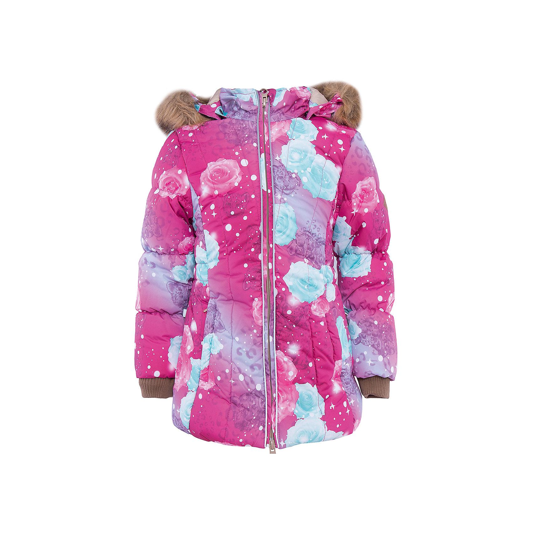 Куртка   для девочки HuppaMETTE Huppa(Хуппа) - утепленная куртка для девочки.<br><br>Утеплитель: 100% полиэстер, 300 гр.<br><br>Температурный режим: до -30 градусов. Степень утепления – высокая. <br><br>* Температурный режим указан приблизительно — необходимо, прежде всего, ориентироваться на ощущения ребенка. Температурный режим работает в случае соблюдения правила многослойности – использования флисовой поддевы и термобелья.<br><br>Она сделана из прочных дышащих материалов, которые не пропускают воду и ветер и выводят лишнюю влагу. Утеплитель HuppaTherm сохранит высокую теплоизоляцию и объем. Кроме того, куртку легко стирать при температуре до 40 градусов и сушить. Приятный дизайн и высокое качество непременно понравятся юной обладательнице такой куртки!<br><br>Особенности:<br>-съемный мех на капюшоне<br>-светоотражающие элементы<br>-отстегивающийся капюшон<br>-скрытые манжеты на рукавах<br><br>Дополнительная информация: <br>Материал: 100% полиэстер<br>Подкладка: тафта - 100% полиэстер<br>Цвет: розовый/голубой<br><br>Куртку METTE Huppa(Хуппа) можно приобрести в нашем интернет-магазине.<br><br>Ширина мм: 356<br>Глубина мм: 10<br>Высота мм: 245<br>Вес г: 519<br>Цвет: розовый<br>Возраст от месяцев: 108<br>Возраст до месяцев: 120<br>Пол: Женский<br>Возраст: Детский<br>Размер: 140,128,122,116,110,104,134<br>SKU: 4928289