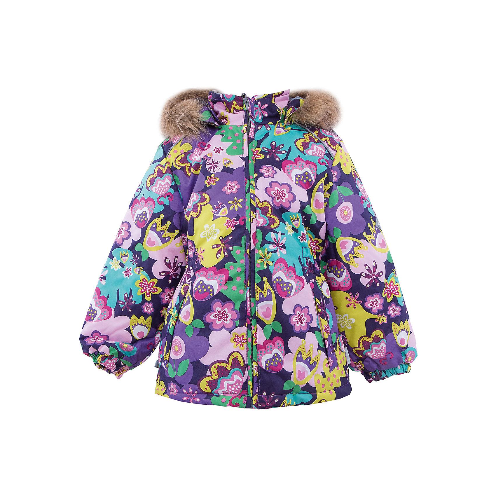 Куртка   для девочки HuppaКуртка MARII Huppa (Хуппа).<br><br>Утеплитель: 100% полиэстер, 300 гр.<br><br>Температурный режим: до -30 градусов. Степень утепления – высокая. <br><br>* Температурный режим указан приблизительно — необходимо, прежде всего, ориентироваться на ощущения ребенка. Температурный режим работает в случае соблюдения правила многослойности – использования флисовой поддевы и термобелья.<br><br>Изготовлена из качественных прочных материалов, не пропускающих воду и ветер. Для удобства и комфорта ребенка куртка имеет резинки на манжетах, капюшон и искусственным мехом, резинку на поясе, светоотражающие элементы. Утеплитель HuppaTherm легко стирать и удобно сушить. Яркий дизайн в сочетании с высоким качеством - превосходный выбор для юных модниц!<br><br>Дополнительная информация:<br>Съемный капюшон с отстегивающимся мехом<br>Материал: 100% полиэстер<br>Подкладка: тафта - 100% полиэстер, флис - 100% полиэстер<br>Цвет: салатовый/лиловый<br><br>Куртку MARII Huppa(Хуппа) можно купить в нашем интернет-магазине.<br><br>Ширина мм: 356<br>Глубина мм: 10<br>Высота мм: 245<br>Вес г: 519<br>Цвет: фиолетовый<br>Возраст от месяцев: 72<br>Возраст до месяцев: 84<br>Пол: Женский<br>Возраст: Детский<br>Размер: 122,92,140,134,128,116,110,104,98<br>SKU: 4928323