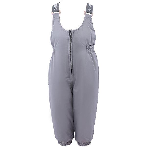 Полукомбинезон Funny HuppaВерхняя одежда<br>Утепленные брюки FUNNY Huppa(Хуппа).<br><br>Утеплитель: 100% полиэстер, 160 гр.<br><br>Температурный режим: до -20 градусов. Степень утепления – средняя. <br><br>* Температурный режим указан приблизительно — необходимо, прежде всего, ориентироваться на ощущения ребенка. Температурный режим работает в случае соблюдения правила многослойности – использования флисовой поддевы и термобелья.<br><br>Изготовлены из прочных и качественных материалов. Они прекрасно подойдут для зимних прогулок и активного отдыха.<br><br>Особенности:<br>-утеплитель HuppaTherm легко восстанавливается в объеме. Его легко стирать и сушить<br>-специальная дышащая мембрана не пропустит воду и ветер под одежду<br>-проклейка швов водостойкой лентой<br>-резинка на талии и манжетах помогут брюкам хорошо держаться на теле<br>-регулируемые подтяжки<br>-светоотражающие элементы для обеспечения безопасности в темное время суток<br><br>Дополнительная информация:<br>Цвет: серый<br>Материал: 100% полиэстер<br>Подкладка: тафта - 100% полиэстер<br><br>Брюки FUNNY Huppa(Хуппа) можно купить в нашем интернет-магазине.<br><br>Ширина мм: 215<br>Глубина мм: 88<br>Высота мм: 191<br>Вес г: 336<br>Цвет: серый<br>Возраст от месяцев: 12<br>Возраст до месяцев: 18<br>Пол: Унисекс<br>Возраст: Детский<br>Размер: 86,122,140,134,128,116,110,104,98,92,80<br>SKU: 4928387