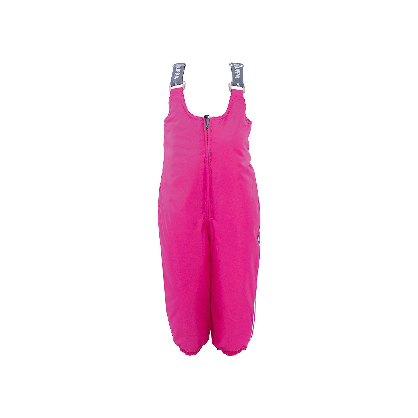 Брюки    HuppaВерхняя одежда<br>Зимние брюки SONNY Huppa(Хуппа).<br><br>Утеплитель: 100% полиэстер, 160 гр.<br><br>Температурный режим: до -20 градусов. Степень утепления – средняя. <br><br>* Температурный режим указан приблизительно — необходимо, прежде всего, ориентироваться на ощущения ребенка. Температурный режим работает в случае соблюдения правила многослойности – использования флисовой поддевы и термобелья.<br><br>Изготовлены из качественных долговечных материалов. Они прекрасно подойдут для прогулок зимой и активного отдыха.<br><br>Особенности:<br>-дышащая водоотталкивающая мембрана, которая не допустит попадание воды и ветра под одежду и выведет лишнюю влагу<br>-утеплитель HuppaTherm неприхотлив в уходе. Быстро восстанавливает объем<br>-фланелевая подкладка из натурального хлопка, приятного телу<br>-проклеенные водостойкой лентой швы<br>-регулируемые подтяжки<br>-резинка на манжетах и поясе<br>-светоотражающие элементы <br><br>Дополнительная информация:<br>Материал: 100% полиэстер<br>Подкладка: фланель - 100% хлопок <br>Цвет: фуксия<br><br>Вы можете приобрести брюки SONNY Huppa(Хуппа) в нашем интернет-магазине.<br><br>Ширина мм: 215<br>Глубина мм: 88<br>Высота мм: 191<br>Вес г: 336<br>Цвет: розовый<br>Возраст от месяцев: 24<br>Возраст до месяцев: 36<br>Пол: Женский<br>Возраст: Детский<br>Размер: 80,86,92,98,104<br>SKU: 4928456