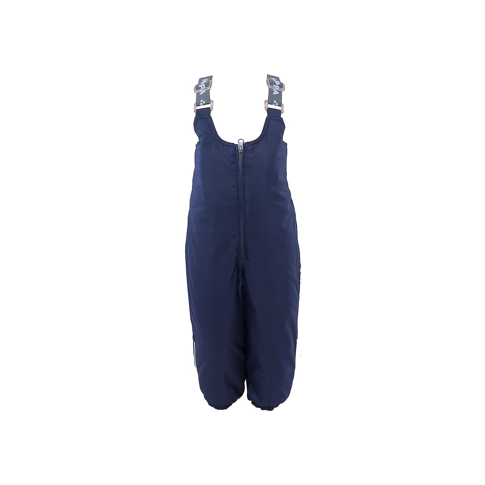 Брюки    HuppaВерхняя одежда<br>Зимние брюки SONNY Huppa(Хуппа).<br><br>Утеплитель: 100% полиэстер, 160 гр.<br><br>Температурный режим: до -20 градусов. Степень утепления – средняя. <br><br>* Температурный режим указан приблизительно — необходимо, прежде всего, ориентироваться на ощущения ребенка. Температурный режим работает в случае соблюдения правила многослойности – использования флисовой поддевы и термобелья.<br><br>Изготовлены из качественных долговечных материалов. Они прекрасно подойдут для прогулок зимой и активного отдыха.<br><br>Особенности:<br>-дышащая водоотталкивающая мембрана, которая не допустит попадание воды и ветра под одежду и выведет лишнюю влагу<br>-утеплитель HuppaTherm неприхотлив в уходе. Быстро восстанавливает объем<br>-фланелевая подкладка из натурального хлопка, приятного телу<br>-проклеенные водостойкой лентой швы<br>-регулируемые подтяжки<br>-резинка на манжетах и поясе<br>-светоотражающие элементы <br><br>Дополнительная информация:<br>Материал: 100% полиэстер<br>Подкладка: фланель - 100% хлопок <br>Цвет: темно-синий<br><br>Вы можете приобрести брюки SONNY Huppa(Хуппа) в нашем интернет-магазине.<br><br>Ширина мм: 215<br>Глубина мм: 88<br>Высота мм: 191<br>Вес г: 336<br>Цвет: синий<br>Возраст от месяцев: 12<br>Возраст до месяцев: 15<br>Пол: Мужской<br>Возраст: Детский<br>Размер: 80,104,86,92,98<br>SKU: 4928462