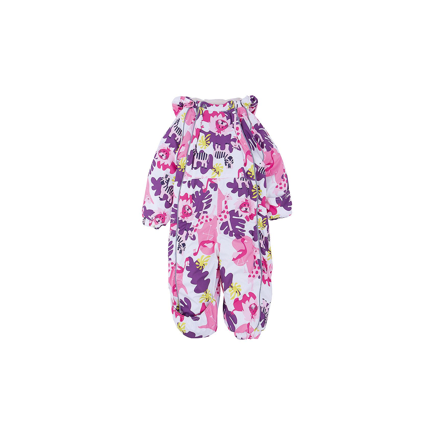 Комбинезон для девочки HuppaВерхняя одежда<br>Зимний комбинезон KEIRA Huppa (Хуппа) с необычной расцветкой изготовлен специально для малышей.<br><br>Утеплитель: 100% полиэстер, 300 гр.<br><br>Температурный режим: до -30 градусов. Степень утепления – высокая. <br><br>* Температурный режим указан приблизительно — необходимо, прежде всего, ориентироваться на ощущения ребенка. Температурный режим работает в случае соблюдения правила многослойности – использования флисовой поддевы и термобелья.<br><br>Мембрана с изнаночной стороны защитит от воды, ветра и выведет лишнюю влагу во избежание перегрева. Утеплитель HuppaTherm быстро восстанавливается и неприхотлив в уходе. Комбинезон имеет резинки на талии и манжетах, благодаря чему вы можете не переживать о том, что снег попадет крохе под одежду. Комбинезон застегивается на две молнии спереди, что особенно удобно для маленьких непосед.<br><br>Особенности:<br>-отстегивающийся капюшон<br>-двойная молния<br>-светоотражающие полоски<br>-манжеты с отворотом у размеров 68-80<br><br>Дополнительная информация:<br>Материал: 100% полиэстер<br>Подкладка: фланель - 100% хлопок<br>Цвет: лиловый/фуксия<br><br>Вы можете приобрести комбинезон KEIRA Huppa (Хуппа) в нашем интернет-магазине.<br><br>Ширина мм: 356<br>Глубина мм: 10<br>Высота мм: 245<br>Вес г: 519<br>Цвет: белый<br>Возраст от месяцев: 18<br>Возраст до месяцев: 24<br>Пол: Женский<br>Возраст: Детский<br>Размер: 92,98,86,68,74,80<br>SKU: 4928491
