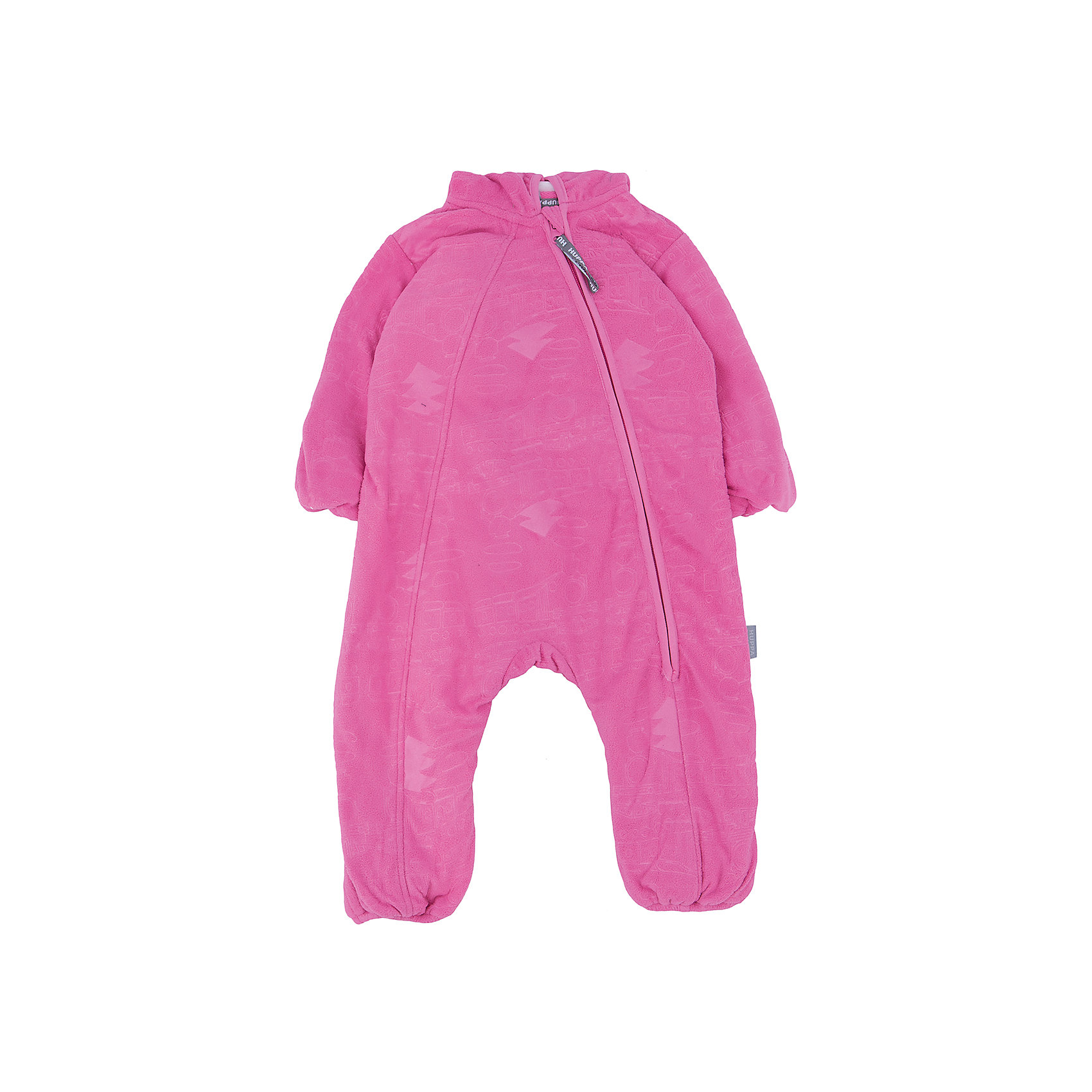 Комбинезон флисовый для девочки HuppaКомбинезоны<br>Флисовый комбинезон DANDY Huppa(Хуппа) имеет капюшон и застегивается на молнию по диагонали. На манжетах и талии есть резинки, надежно защищающие малыша от попадания ветра под одежду. Комбинезон достаточно теплый, хорошо сидит по фигуре и отлично подойдет в качестве промежуточного слоя в одежде в зимнее время или как верхняя одежда весной-осенью.<br><br>Дополнительная информация:<br>Материал: 100% полиэстер<br>Цвет: розовый<br><br>Флисовый комбинезон DANDY Huppa(Хуппа) вы можете приобрести в нашем интернет-магазине<br><br>Ширина мм: 356<br>Глубина мм: 10<br>Высота мм: 245<br>Вес г: 519<br>Цвет: розовый<br>Возраст от месяцев: 12<br>Возраст до месяцев: 18<br>Пол: Женский<br>Возраст: Детский<br>Размер: 86,62,68,74,80<br>SKU: 4928580