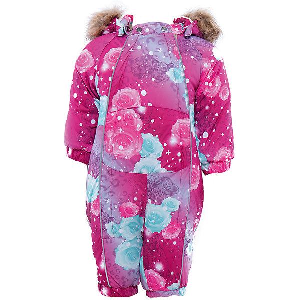 Комбинезон HuppaВерхняя одежда<br>Комбинезон Huppa.<br><br>Утеплитель: 100% полиэстер, 300 гр.<br><br>Температурный режим: до -30 градусов. Степень утепления – высокая. <br><br>* Температурный режим указан приблизительно — необходимо, прежде всего, ориентироваться на ощущения ребенка. Температурный режим работает в случае соблюдения правила многослойности – использования флисовой поддевы и термобелья.<br><br>Каждая заботливая мама знает как важно быстро одеть ребенка зимой, чтобы он не вспотел. Комбинезон REGGIE Huppa(Хуппа) поможет справиться с этой задачей, ведь он легко застегивается на две молнии спереди. Резинки на талии и манжетах не позволят снегу и ветру попасть под одежду. Комбинезон дополнен искусственным мехом на капюшоне, и спине. Яркая расцветка непременно понравится непоседе!<br><br>Особенности: <br>-мягкая подкладка <br>-съемный мех <br>-карман с лентой для соски <br>-резинка для обуви <br>-водоотталкивающие дышащие материалы <br>-утеплитель HuppaTherm, неприхотлив в уходе <br>-швы проклеены водостойкой лентой<br>-светоотражающие элементы<br>-манжеты с отворотом у размеров 62-80<br><br><br>Дополнительная информация: <br>Материал: 100% полиэстер <br>Подкладка: фланель - 100% хлопок <br>Цвет: розовый<br><br>Вы можете приобрести комбинезон REGGIE Huppa(Хуппа) в нашем интернет-магазине.<br><br>Ширина мм: 356<br>Глубина мм: 10<br>Высота мм: 245<br>Вес г: 519<br>Цвет: розовый<br>Возраст от месяцев: 2<br>Возраст до месяцев: 5<br>Пол: Женский<br>Возраст: Детский<br>Размер: 62,92,86,80,74,68<br>SKU: 4928611