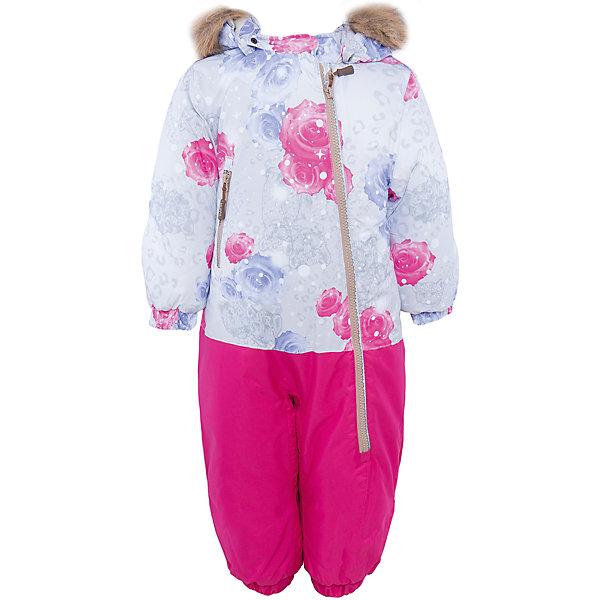 Комбинезон  для девочки HuppaВерхняя одежда<br>Теплый комбинезон DEVON Huppa(Хуппа).<br><br>Утеплитель: 100% полиэстер, 300 гр.<br><br>Температурный режим: до -30 градусов. Степень утепления – высокая. <br><br>* Температурный режим указан приблизительно — необходимо, прежде всего, ориентироваться на ощущения ребенка. Температурный режим работает в случае соблюдения правила многослойности – использования флисовой поддевы и термобелья.<br><br>Прекрасно подойдет для малышей, ведь он легко застегивается на длинную молнию по диагонали. Резинки на талии и манжетах не позволят снегу и ветру попасть под одежду. Комбинезон дополнен искусственным мехом на капюшоне в форме ушек. Яркая расцветка непременно понравится непоседе!<br><br>Особенности: <br>-мягкая подкладка <br>-съемный капюшон с отстегивающимся мехом <br>-карман с лентой для соски <br>-резинка для обуви <br>-водоотталкивающие дышащие материалы <br>-утеплитель HuppaTherm, неприхотлив в уходе <br>-швы проклеены водостойкой лентой<br>-светоотражающие элементы<br>-манжеты с отворотом у размеров 62-80<br><br><br>Дополнительная информация: <br>Материал: 100% полиэстер <br>Подкладка: фланель - 100% хлопок <br>Цвет: фуксия/серый<br><br>Вы можете приобрести комбинезон DEVON Huppa(Хуппа) в нашем интернет-магазине.<br><br>Ширина мм: 356<br>Глубина мм: 10<br>Высота мм: 245<br>Вес г: 519<br>Цвет: белый<br>Возраст от месяцев: 3<br>Возраст до месяцев: 6<br>Пол: Женский<br>Возраст: Детский<br>Размер: 68,98,92,86,80,74<br>SKU: 4928646