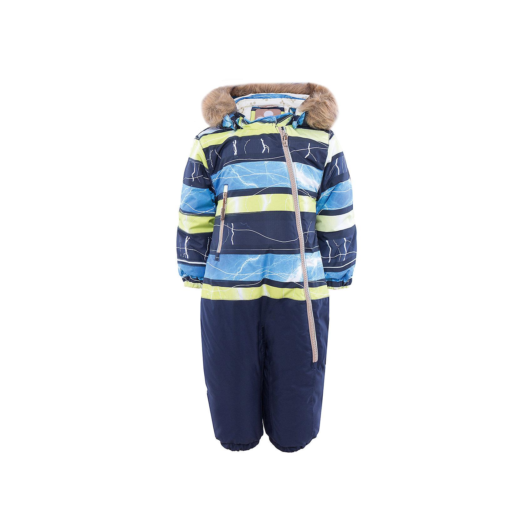 Комбинезон HuppaВерхняя одежда<br>Теплый комбинезон DEVON Huppa(Хуппа).<br><br>Утеплитель: 100% полиэстер, 300 гр.<br><br>Температурный режим: до -30 градусов. Степень утепления – высокая. <br><br>* Температурный режим указан приблизительно — необходимо, прежде всего, ориентироваться на ощущения ребенка. Температурный режим работает в случае соблюдения правила многослойности – использования флисовой поддевы и термобелья.<br><br>Прекрасно подойдет для малышей, ведь он легко застегивается на длинную молнию по диагонали. Резинки на талии и манжетах не позволят снегу и ветру попасть под одежду. Комбинезон дополнен искусственным мехом на капюшоне в форме ушек. Яркая расцветка непременно понравится непоседе!<br><br>Особенности: <br>-мягкая подкладка <br>-съемный капюшон с отстегивающимся мехом <br>-карман с лентой для соски <br>-резинка для обуви <br>-водоотталкивающие дышащие материалы <br>-утеплитель HuppaTherm, неприхотлив в уходе <br>-швы проклеены водостойкой лентой<br>-светоотражающие элементы<br>-манжеты с отворотом у размеров 62-80<br><br><br>Дополнительная информация: <br>Материал: 100% полиэстер <br>Подкладка: фланель - 100% хлопок <br>Цвет: синий/лайм<br><br>Вы можете приобрести комбинезон DEVON Huppa(Хуппа) в нашем интернет-магазине.<br><br>Ширина мм: 356<br>Глубина мм: 10<br>Высота мм: 245<br>Вес г: 519<br>Цвет: зеленый<br>Возраст от месяцев: 3<br>Возраст до месяцев: 6<br>Пол: Унисекс<br>Возраст: Детский<br>Размер: 68,98,74,80,86,92<br>SKU: 4928667