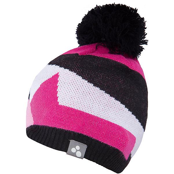 Шапка Huppa Kerim для девочкиЗимние<br>Характеристики товара:<br><br>• модель: Kerim;<br>• цвет: розовый/черный;<br>• состав: 100% акрил; <br>• подкладка; 100% хлопок;<br>• температурный режим: от 0°С до -20°С;<br>• особенности: вязаная, с помпоном;<br>• мягкая резинка;<br>• шапка на завязках;<br>• светоотражающий элемент;<br>• страна бренда: Эстония;<br>• страна изготовитель: Эстония.<br><br>Вязаная шапка Kerim Huppa (Хуппа) изготовлена из акрила и прекрасно сохраняет тепло. Подкладка из хлопка не вызовет раздражения на коже ребенка. Уши будут надежно закрыты благодаря длинным завязкам. Шапка украшена рисунком и помпоном. Есть светоотражающие элементы. <br><br>Шапку Kerim от бренда Huppa (Хуппа) можно купить в нашем интернет-магазине.<br>Ширина мм: 89; Глубина мм: 117; Высота мм: 44; Вес г: 155; Цвет: розовый; Возраст от месяцев: 9; Возраст до месяцев: 12; Пол: Женский; Возраст: Детский; Размер: 43-45,55-57,47-49,51-53; SKU: 4928911;