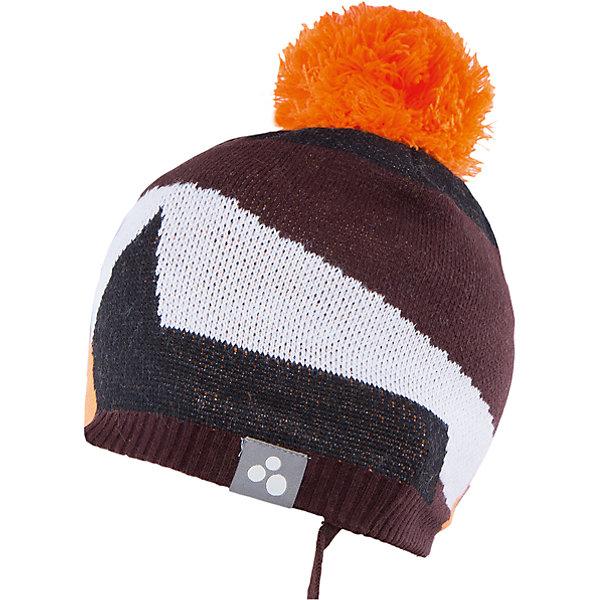 Купить Шапка Huppa Kerim для мальчика, Эстония, коричневый, 43-45, 51-53, 55-57, 47-49, Мужской