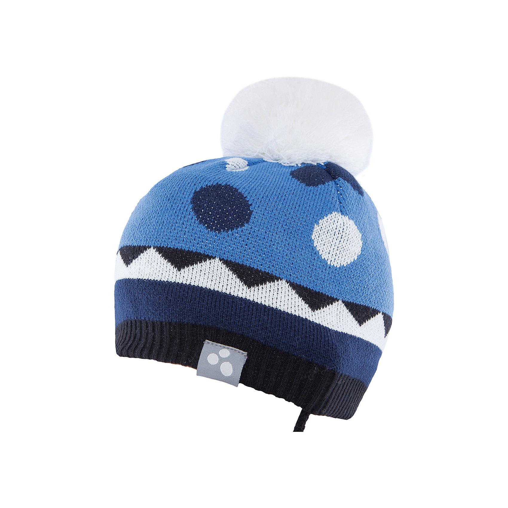 Шапка  HuppaВязаная шапка PEETA Huppa(Хуппа) плотно прилегает к голове и хорошо защищает от морозов и ветра. Подкладка из хлопка не вызовет раздражения на коже. Шапочка украшена помпоном и геометрическим орнаментом. Есть светоотражающие элементы. В такой шапке гулять будет тепло и комфортно!<br><br>Дополнительная информация:<br>Материал: 100% акрил<br>Подкладка: 100% хлопок<br>Цвет: синий/белый<br><br>Вы можете приобрести шапку PEETA Huppa(Хуппа) в нашем интернет-магазине.<br><br>Ширина мм: 89<br>Глубина мм: 117<br>Высота мм: 44<br>Вес г: 155<br>Цвет: синий<br>Возраст от месяцев: 36<br>Возраст до месяцев: 72<br>Пол: Мужской<br>Возраст: Детский<br>Размер: 51-53,43-45,47-49<br>SKU: 4928930