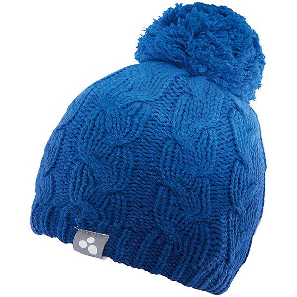 Шапка  HuppaГоловные уборы<br>Вязаная шапка LUCCA Huppa(Хуппа) изготовлена из качественных материалов и обеспечит вашему ребенку тепло и комфорт. Шапка украшена помпоном, вязаными косичками и интересным рисунком с эффектом градиента. Шапка плотно прилегает к голове благодаря резинке по краю.<br><br>Дополнительная информация:<br>Материал: 45% акрил, 55% хлопок<br>Цвет: синий<br><br>Вы можете приобрести шапку LUCCA Huppa(Хуппа) в нашем интернет-магазине.<br><br>Ширина мм: 89<br>Глубина мм: 117<br>Высота мм: 44<br>Вес г: 155<br>Цвет: синий<br>Возраст от месяцев: 132<br>Возраст до месяцев: 144<br>Пол: Унисекс<br>Возраст: Детский<br>Размер: 51-53,57,55-57<br>SKU: 4928946
