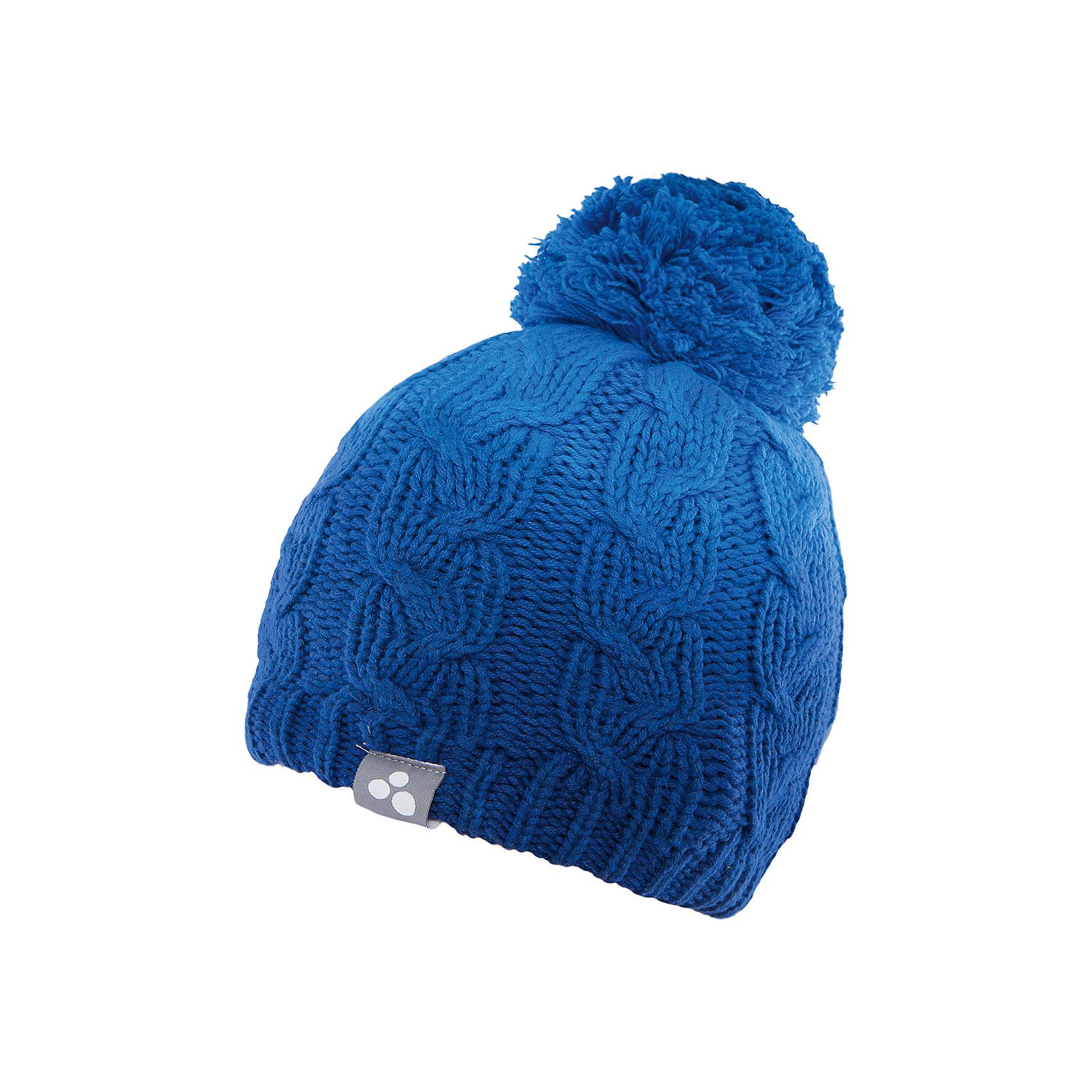 Шапка  HuppaЗимние<br>Вязаная шапка LUCCA Huppa(Хуппа) изготовлена из качественных материалов и обеспечит вашему ребенку тепло и комфорт. Шапка украшена помпоном, вязаными косичками и интересным рисунком с эффектом градиента. Шапка плотно прилегает к голове благодаря резинке по краю.<br><br>Дополнительная информация:<br>Материал: 45% акрил, 55% хлопок<br>Цвет: синий<br><br>Вы можете приобрести шапку LUCCA Huppa(Хуппа) в нашем интернет-магазине.<br><br>Ширина мм: 89<br>Глубина мм: 117<br>Высота мм: 44<br>Вес г: 155<br>Цвет: синий<br>Возраст от месяцев: 132<br>Возраст до месяцев: 144<br>Пол: Унисекс<br>Возраст: Детский<br>Размер: 57,55-57,51-53<br>SKU: 4928946