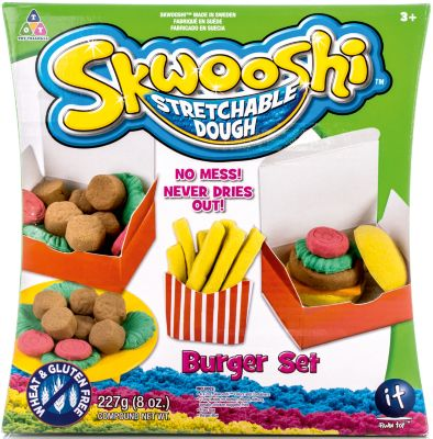Skwooshi Набор для лепки с аксессуарами Бургер