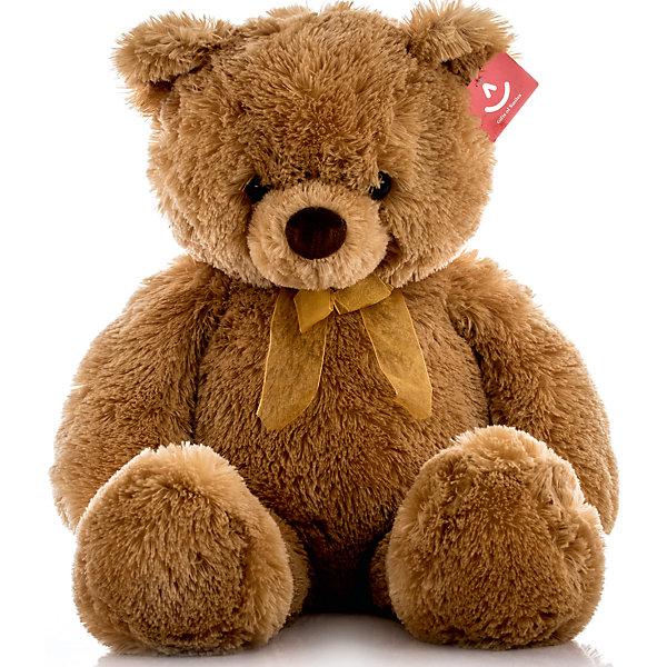 Мягкая игрушка Медведь, 65 см, AURORAМягкие игрушки животные<br>Милый плюшевый мишка станет любимой игрушкой Вашего ребенка, ведь он невероятно мягкий и красивый, а еще его можно брать везде с собой!<br><br>Дополнительная информация:<br><br>- Возраст: от 3 лет.<br>- Материал: 100% плюш.<br>- Цвет: коричневый.<br>- Высота игрушки: 65 см.<br><br>Купить игрушку Медведя можно в нашем магазине.<br><br>Ширина мм: 230<br>Глубина мм: 190<br>Высота мм: 260<br>Вес г: 868<br>Возраст от месяцев: 36<br>Возраст до месяцев: 120<br>Пол: Унисекс<br>Возраст: Детский<br>SKU: 4929024