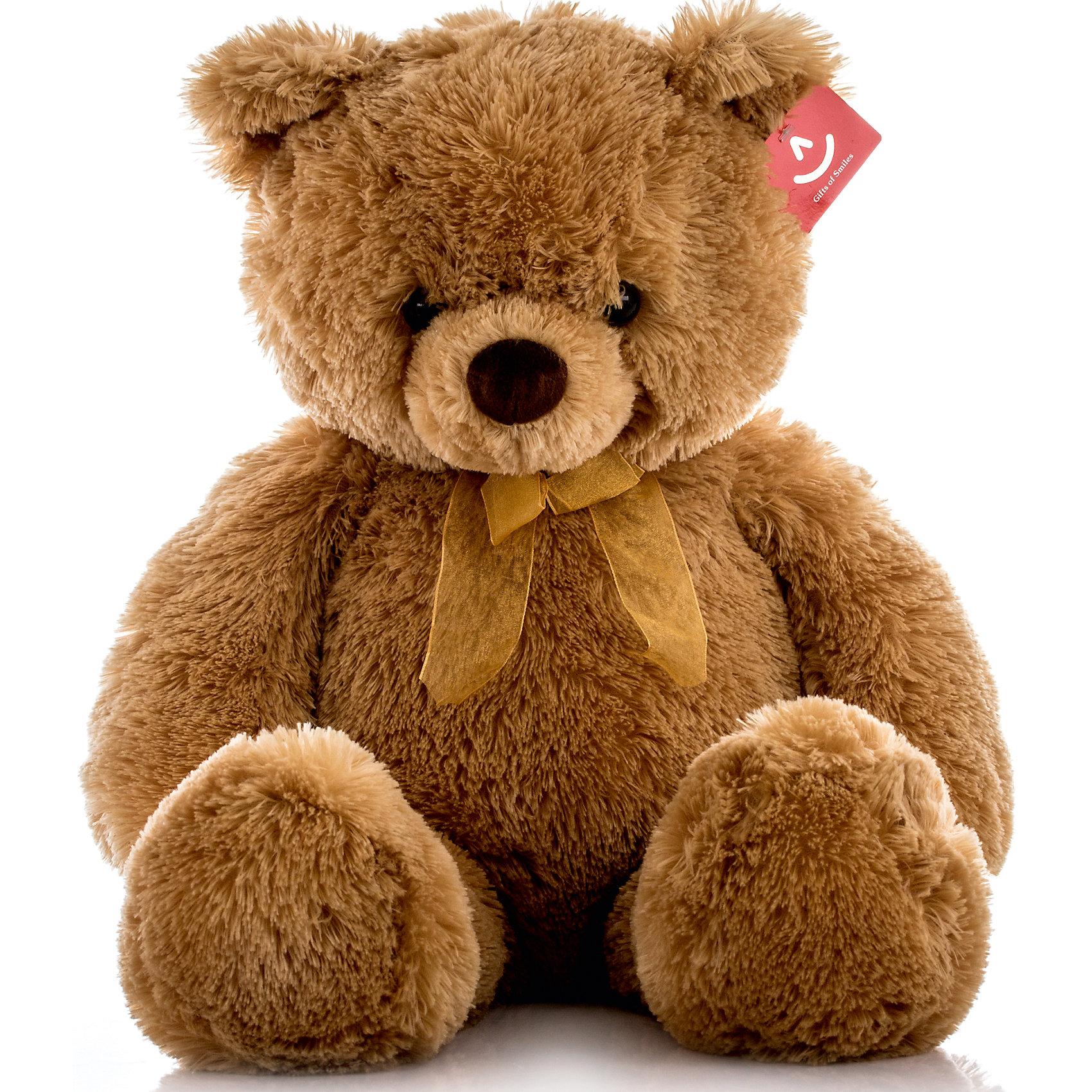 Мягкая игрушка Медведь, 65 см, AURORAМедвежата<br>Милый плюшевый мишка станет любимой игрушкой Вашего ребенка, ведь он невероятно мягкий и красивый, а еще его можно брать везде с собой!<br><br>Дополнительная информация:<br><br>- Возраст: от 3 лет.<br>- Материал: 100% плюш.<br>- Цвет: коричневый.<br>- Высота игрушки: 65 см.<br><br>Купить игрушку Медведя можно в нашем магазине.<br><br>Ширина мм: 230<br>Глубина мм: 190<br>Высота мм: 260<br>Вес г: 868<br>Возраст от месяцев: 36<br>Возраст до месяцев: 120<br>Пол: Унисекс<br>Возраст: Детский<br>SKU: 4929024