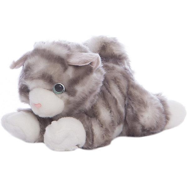 Мягкая игрушка Котик серый, 22см, AURORAМягкие игрушки животные<br>Красивый котик с бело-серой шерсткой, обязательно понравится Вашему ребенку! Котик невероятно мягкий, у него забавный хвостик и милый розовый носик, а еще, у котика очаровательные глазки.<br><br>Дополнительная информация:<br><br>- Возраст: от 3 лет.<br>- Материал: плюш, синтепон.<br>- Цвет: серый.<br>- Высота игрушки: 22 см.<br><br>Купить мягкую игрушку Котик можно в нашем магазине.<br>Ширина мм: 220; Глубина мм: 80; Высота мм: 120; Вес г: 184; Возраст от месяцев: 36; Возраст до месяцев: 120; Пол: Унисекс; Возраст: Детский; SKU: 4929030;